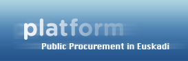 Public Procurement in Euskadi