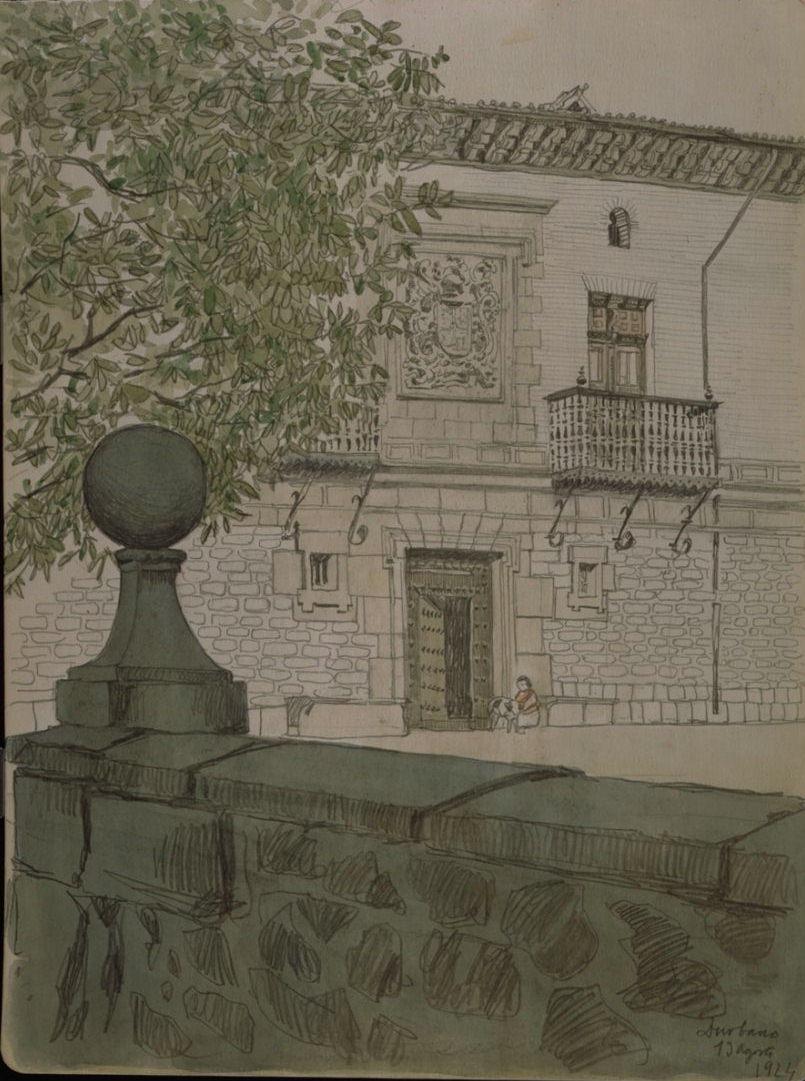 Casa señorial de Otazu en Zurbano (Álava)