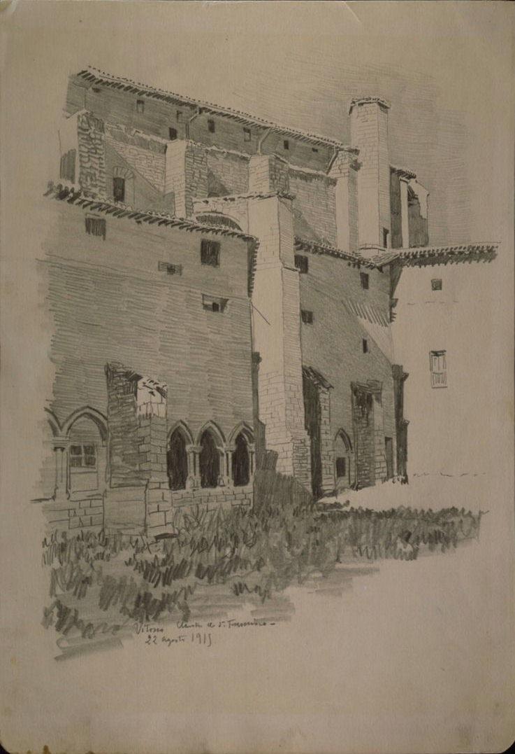 Claustro del convento San Francisco de Vitoria