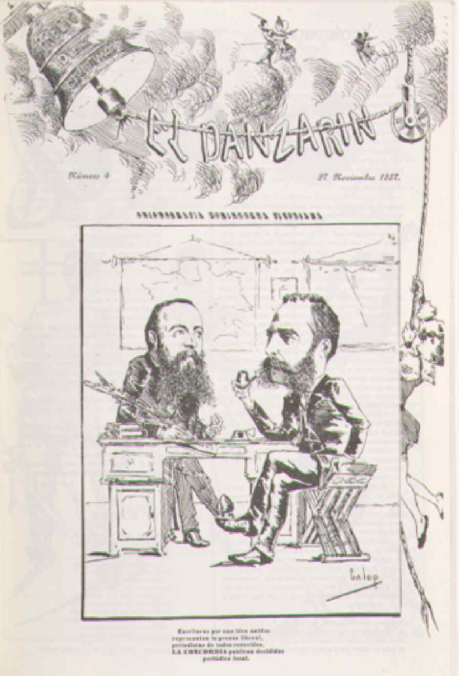 El Danzarín. Chismografía dominguera vitoriana