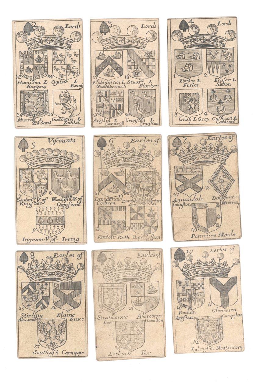 Armas de los nobles escoceses