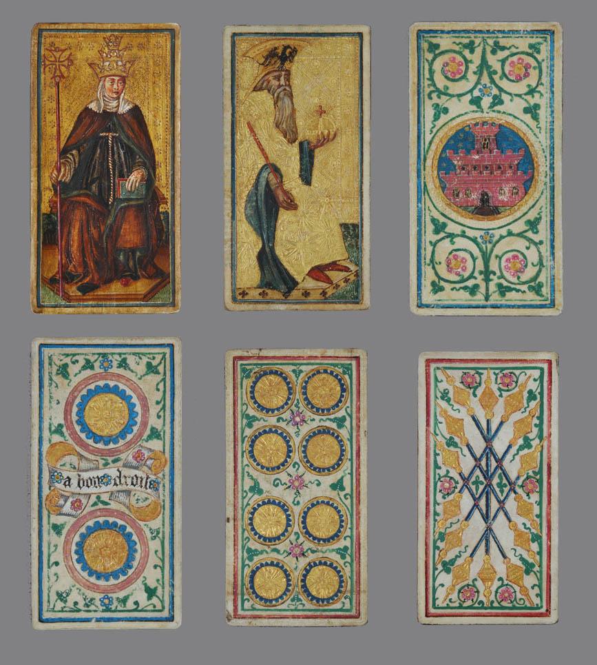 Tarot milanés del grupo Visconti-Sforza