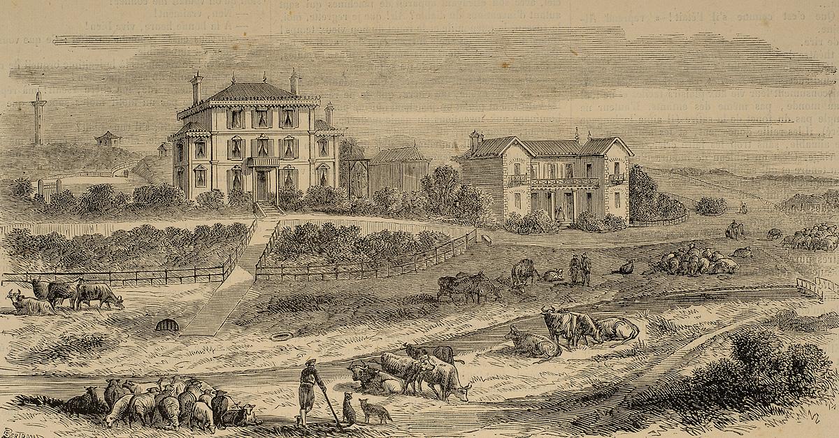 La ferme imperiale, a Biarritz
