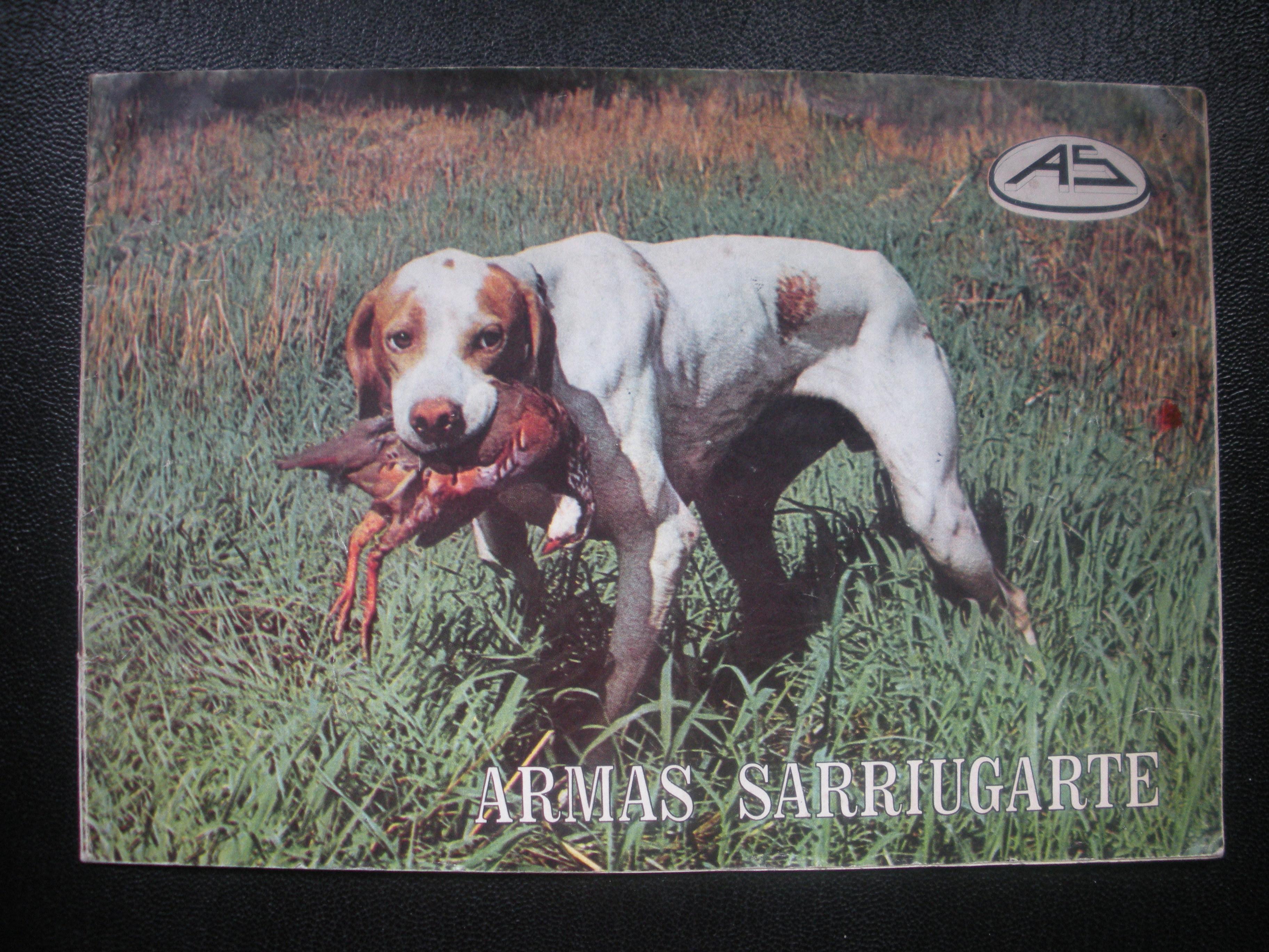 CATÁLOGO DE ARMAS SARRIUGARTE