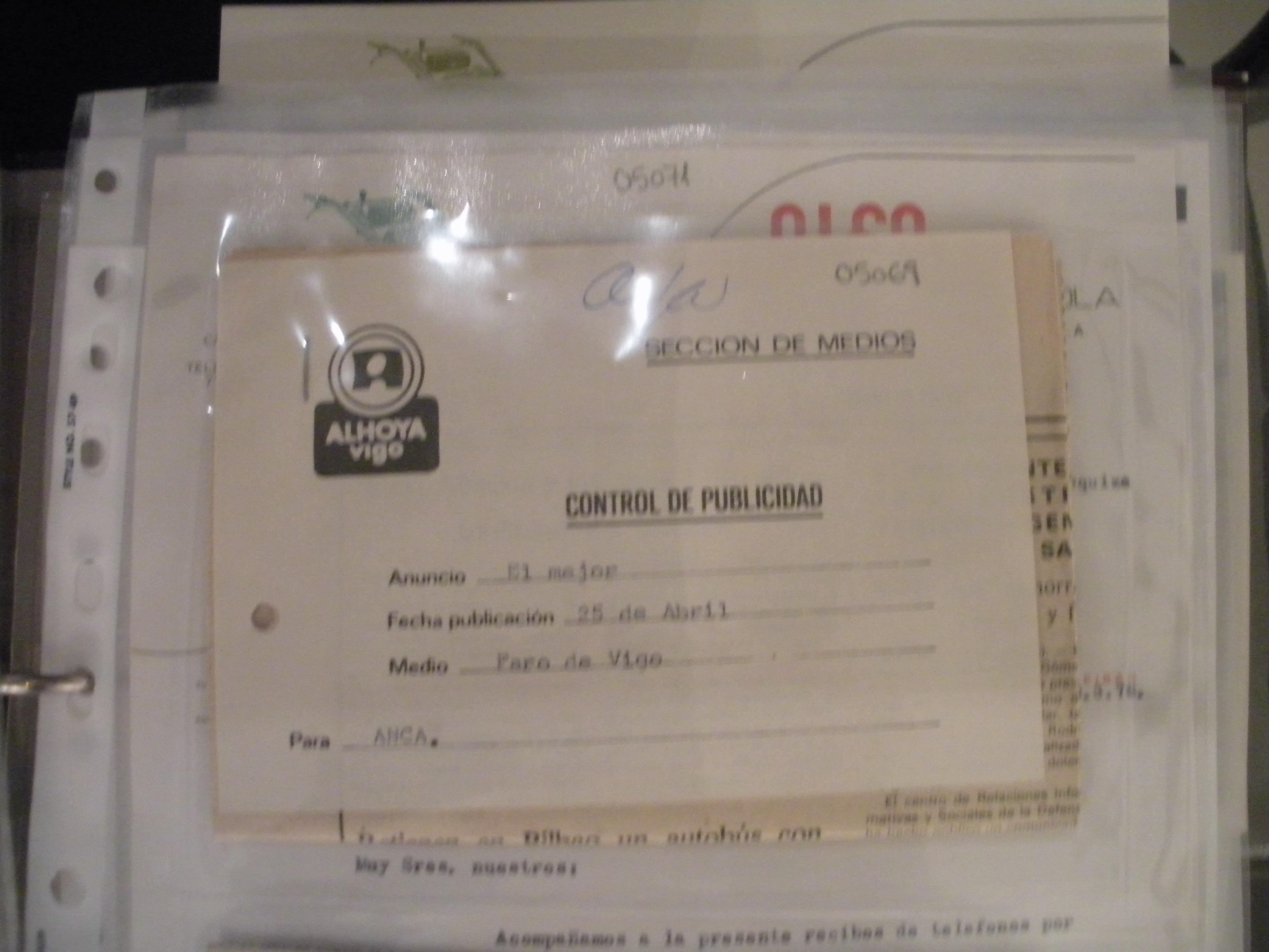 ANUNCIO EN PRENSA DE MOTOCULTOR ALFA DEL 12/04/1982