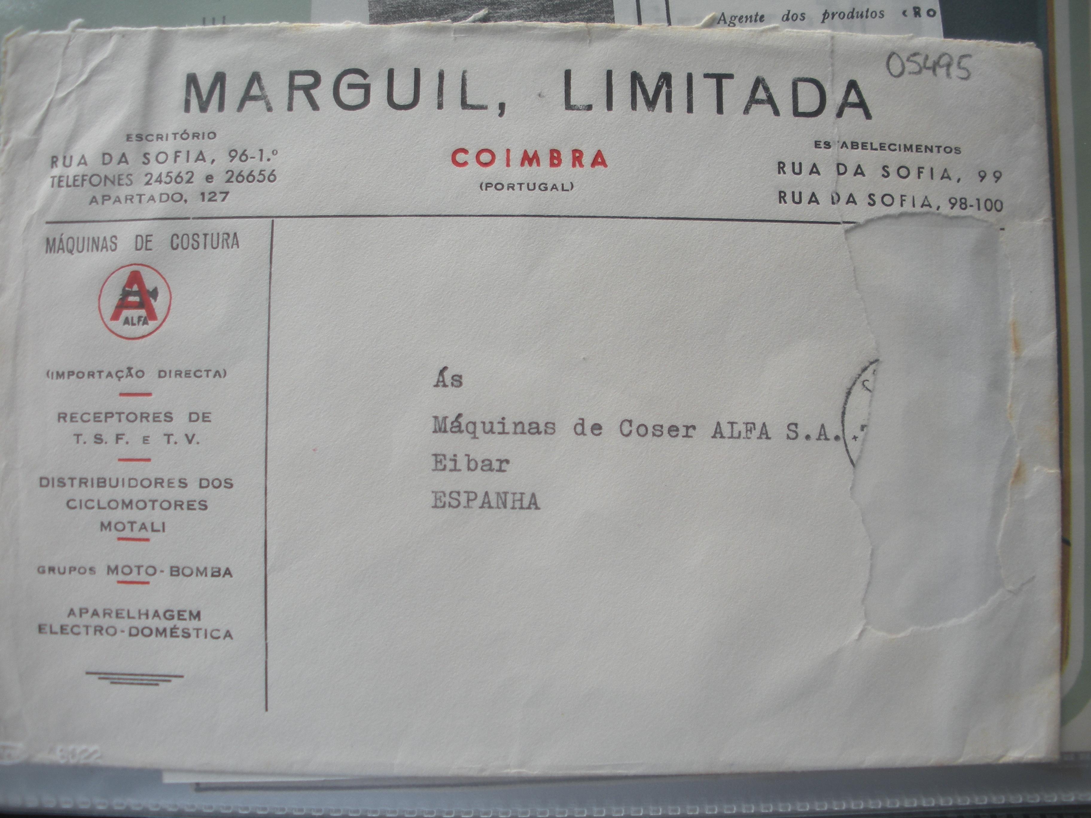 SOBRE DE MARGUIL, LIMITADA