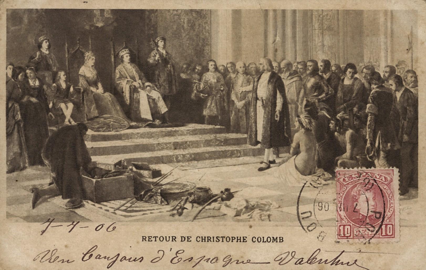 Retour de Christophe Colomb