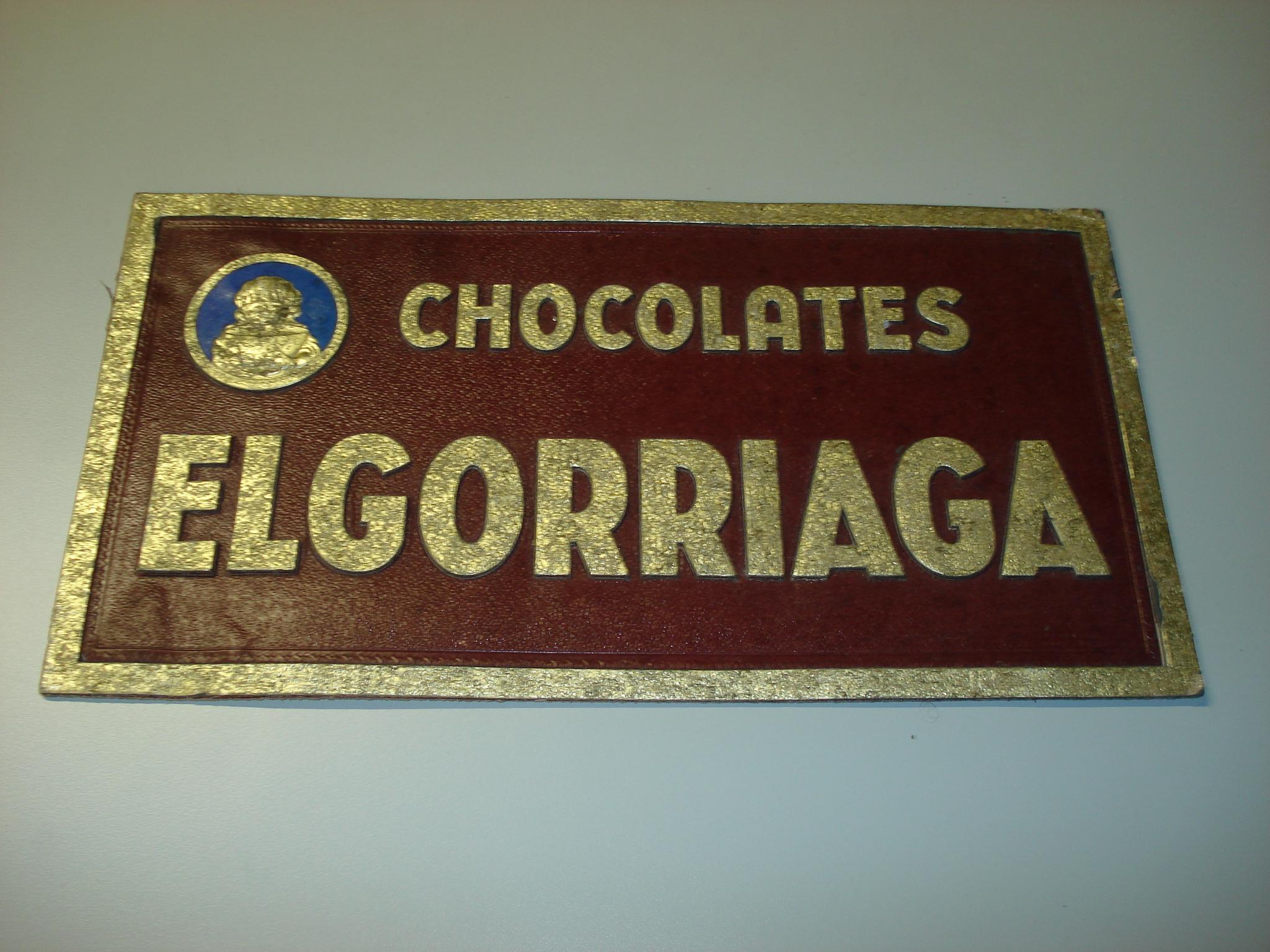Cartel Publicitario CHOCOLATES ELGORRIAGA