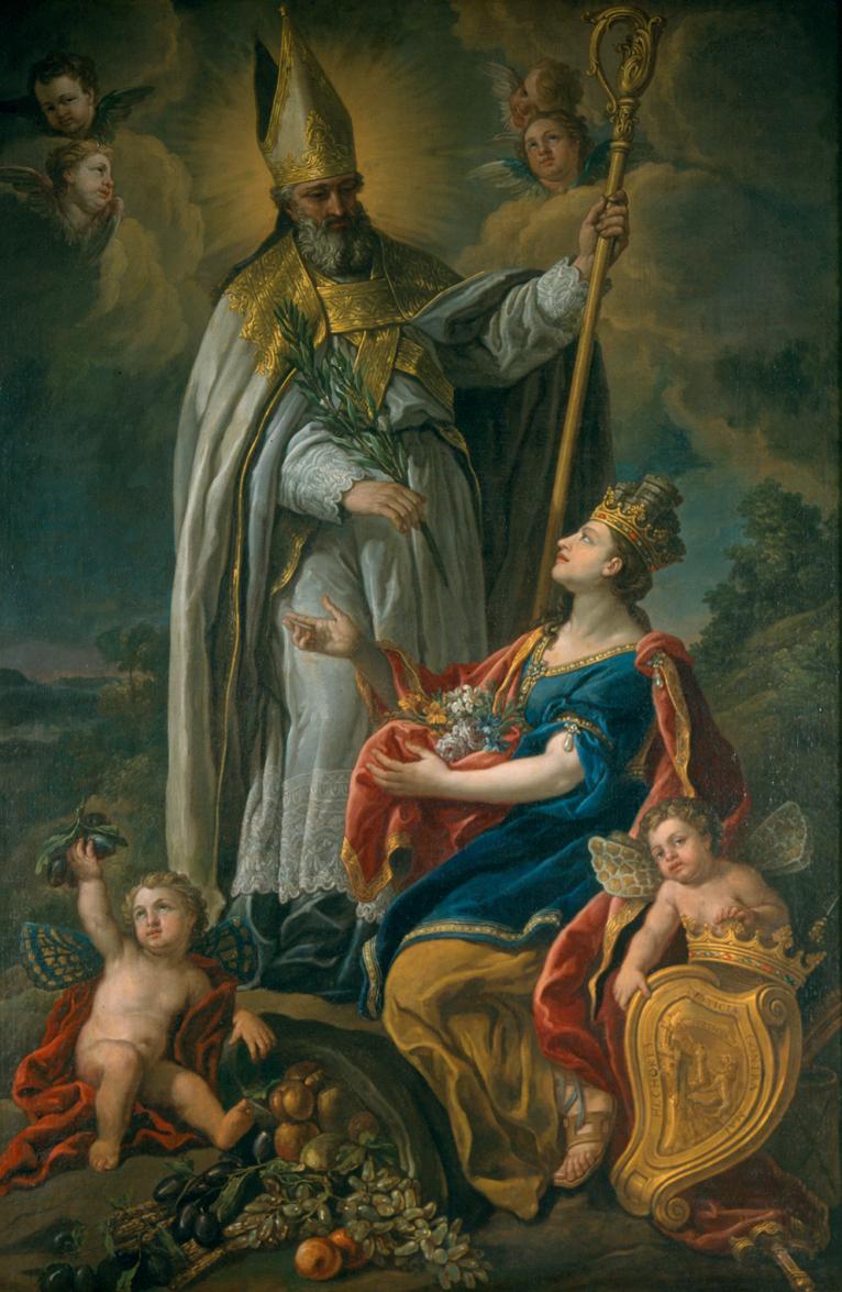 Alegoría de San Prudencio y de la Provincia de Álava