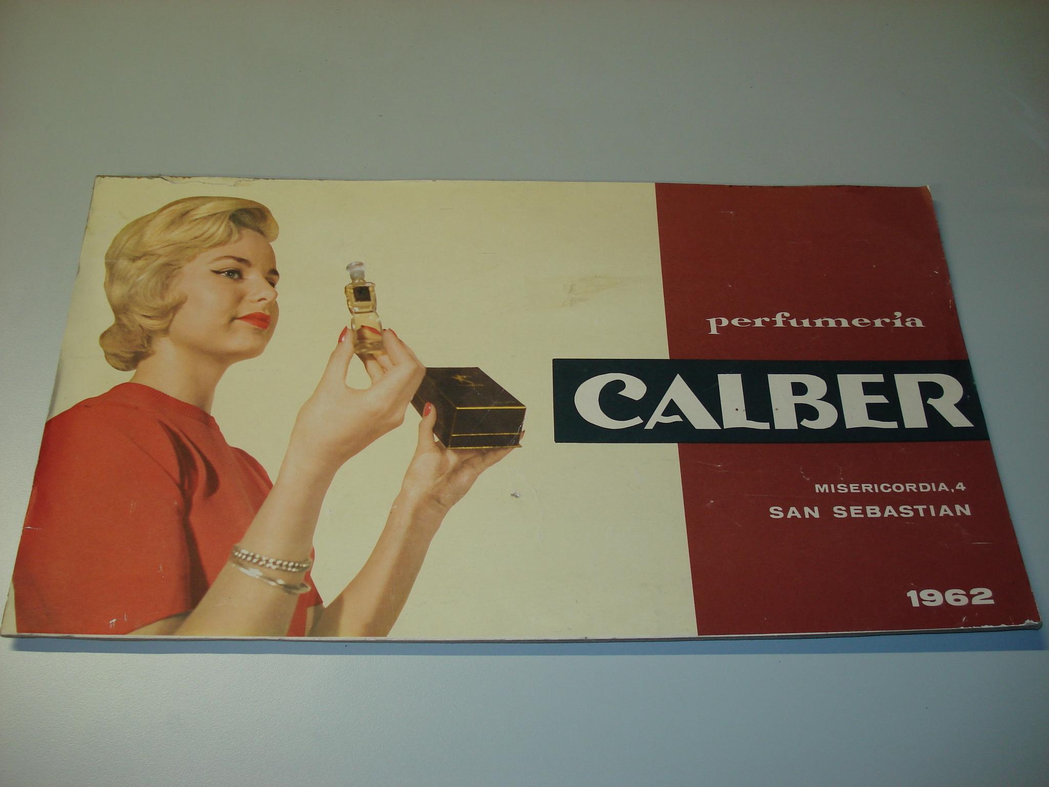Cartel publicitario CALBER