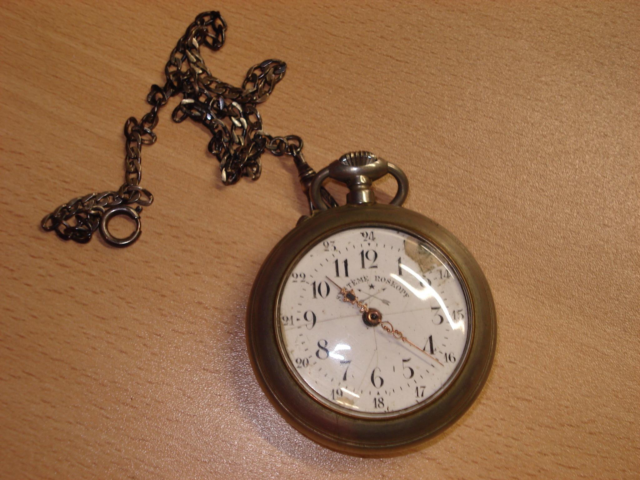 Reloj de bolsillo ROSKOPF