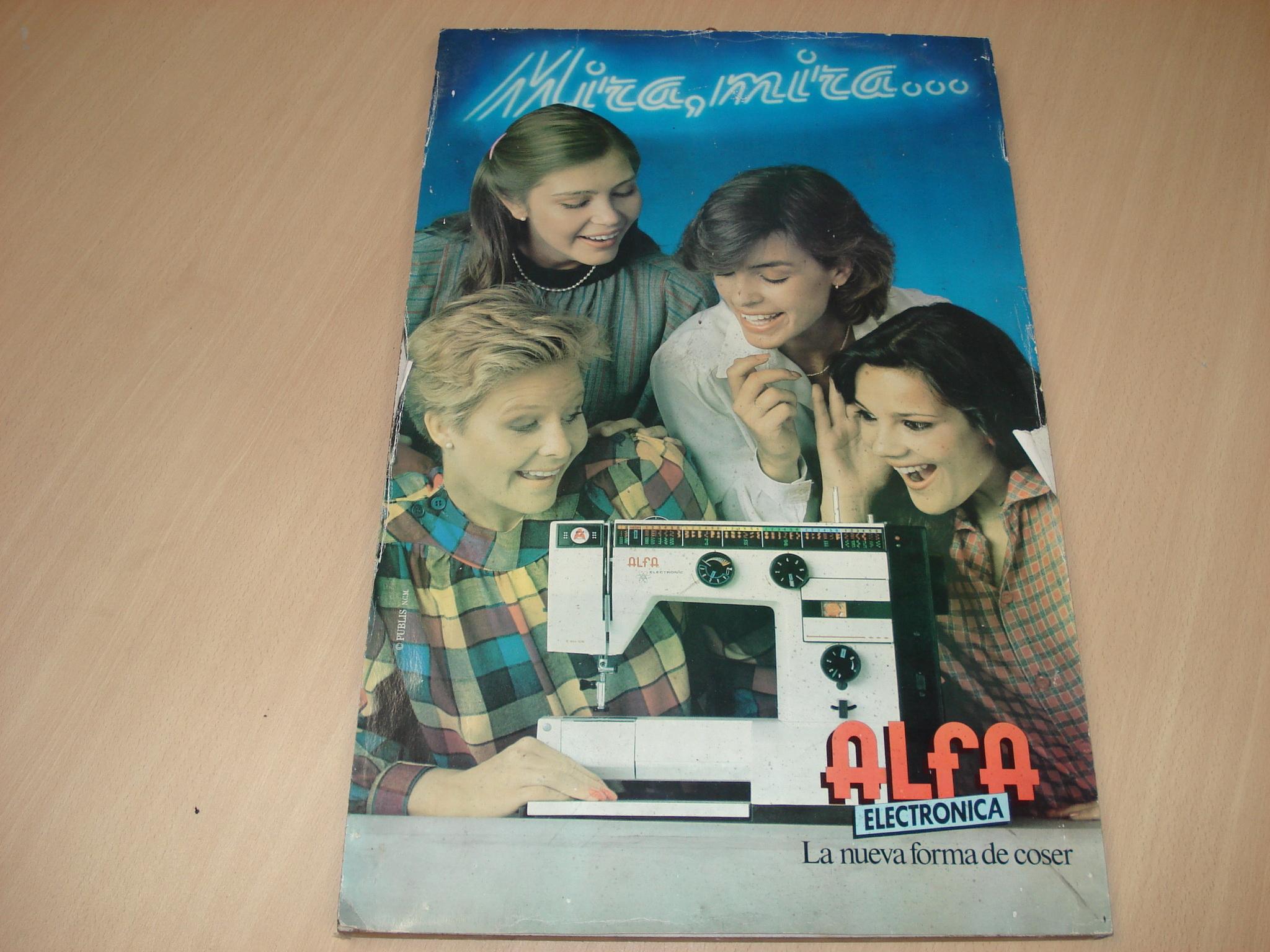 Cartel publicitario de ALFA