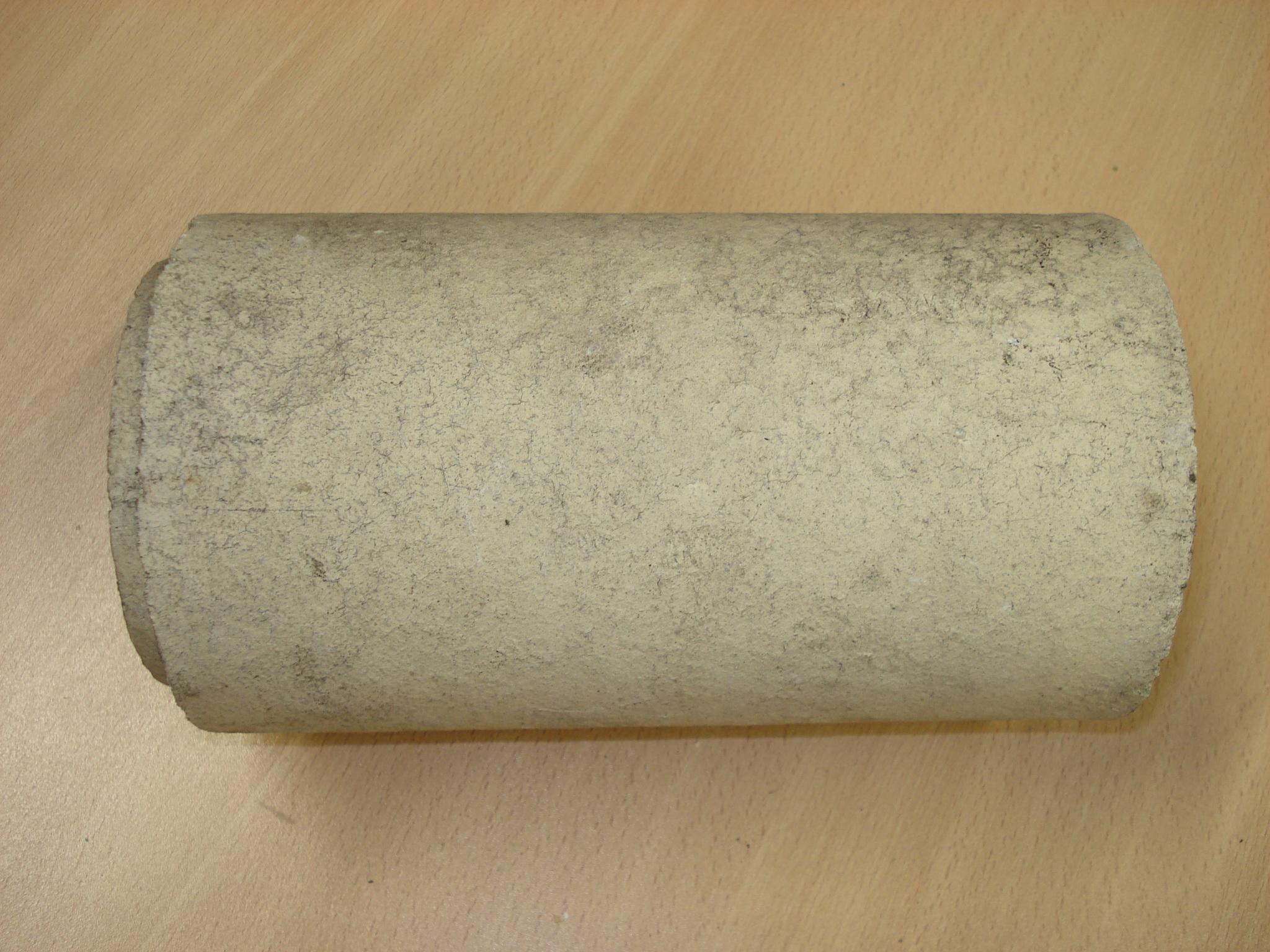 Refractario de arcilla en forma de tubo para fundición