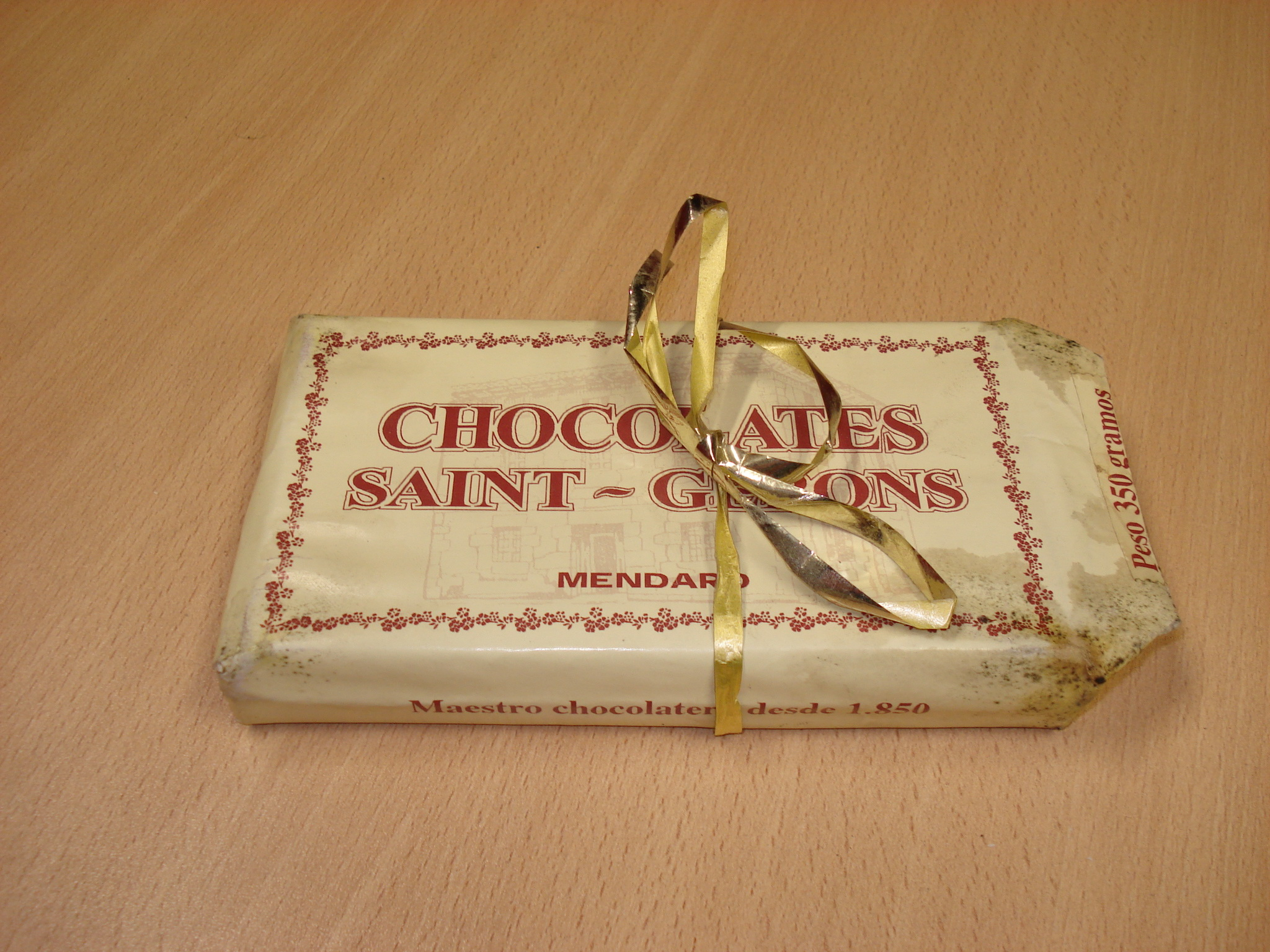 Tableta de chocolate a la taza CHOCOLATES DE MENDARO SAINT-GERONS