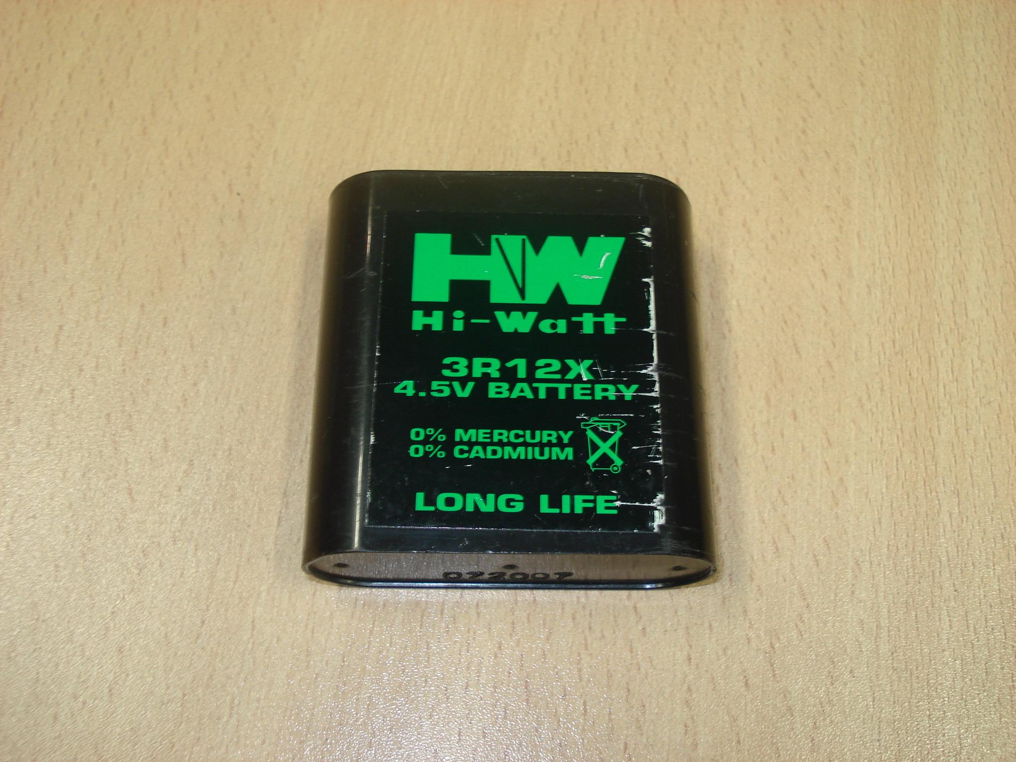 Pila HI-WATT 3R 12 x 4,5V