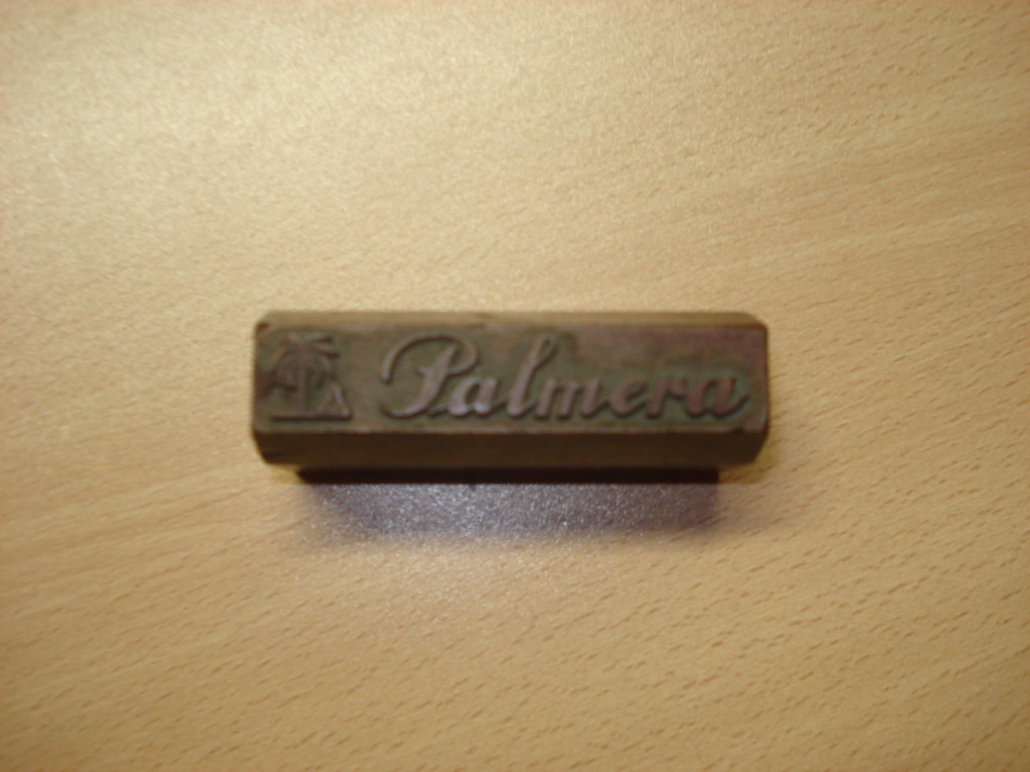 Troquel de la marca PALMERA