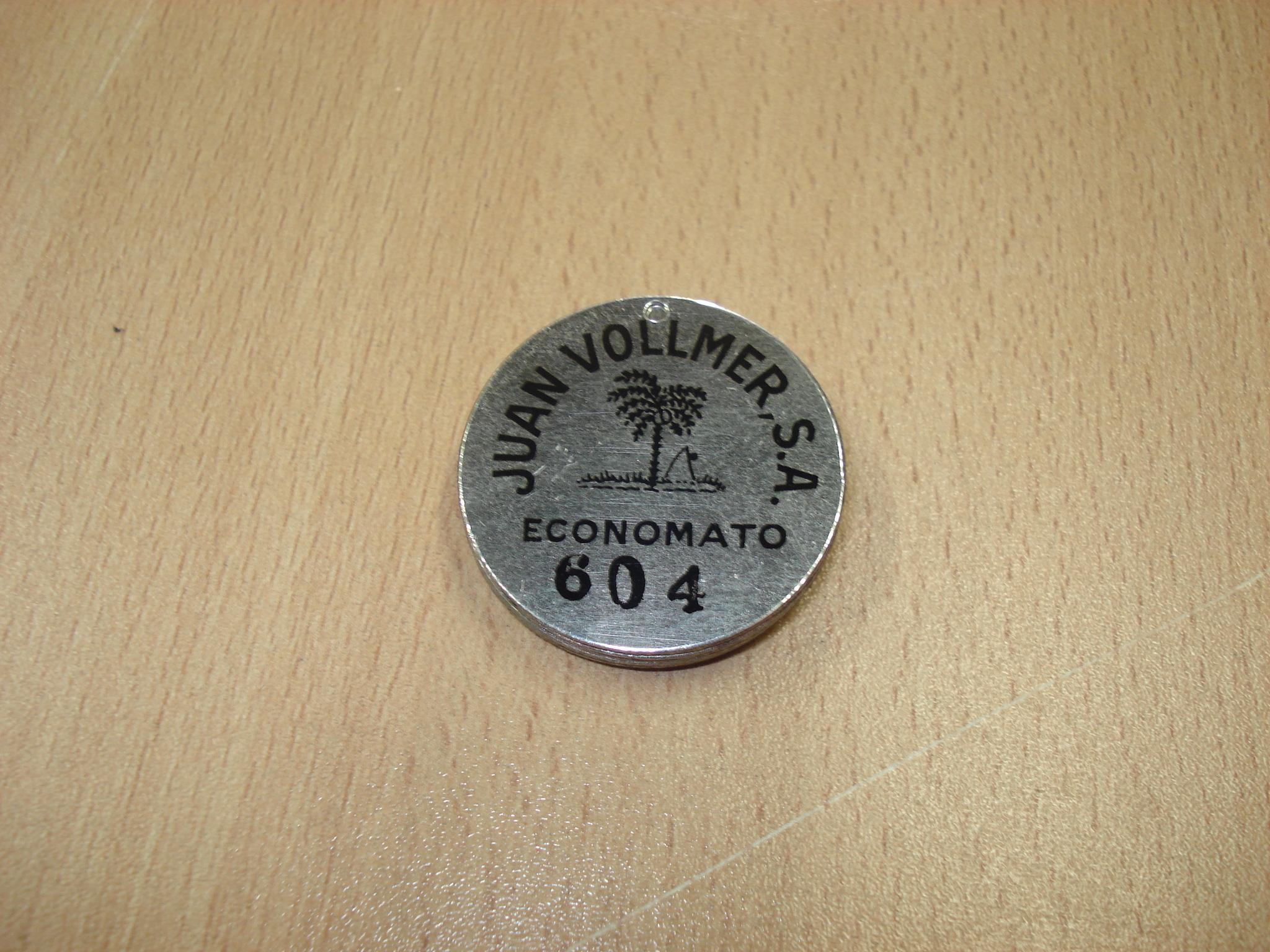 Chapas identificativas de la marca PALMERA de Juan Vollmer, S.A.