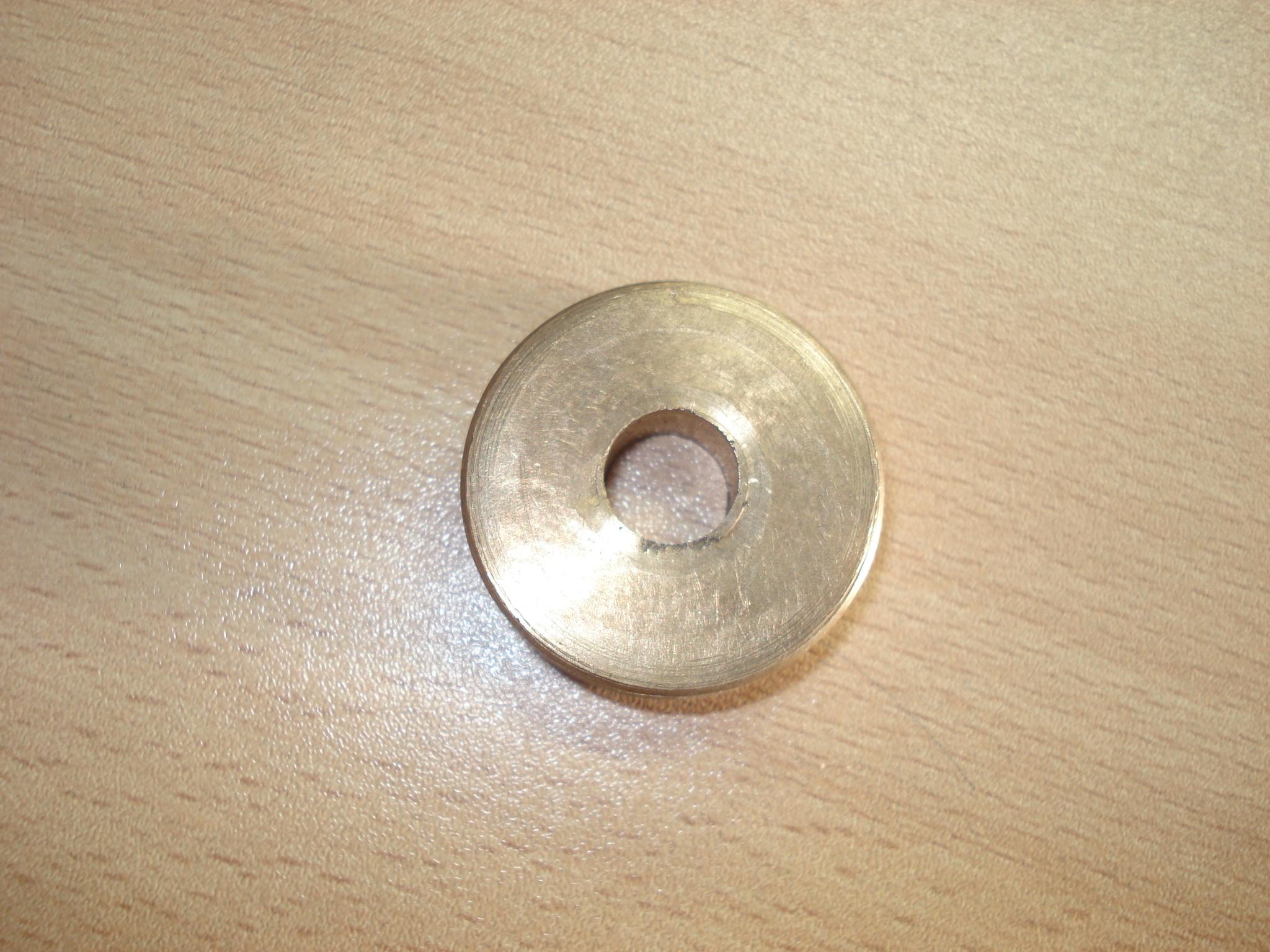 Pieza de cobre de la empresa Hermanos Pradera, S.A.