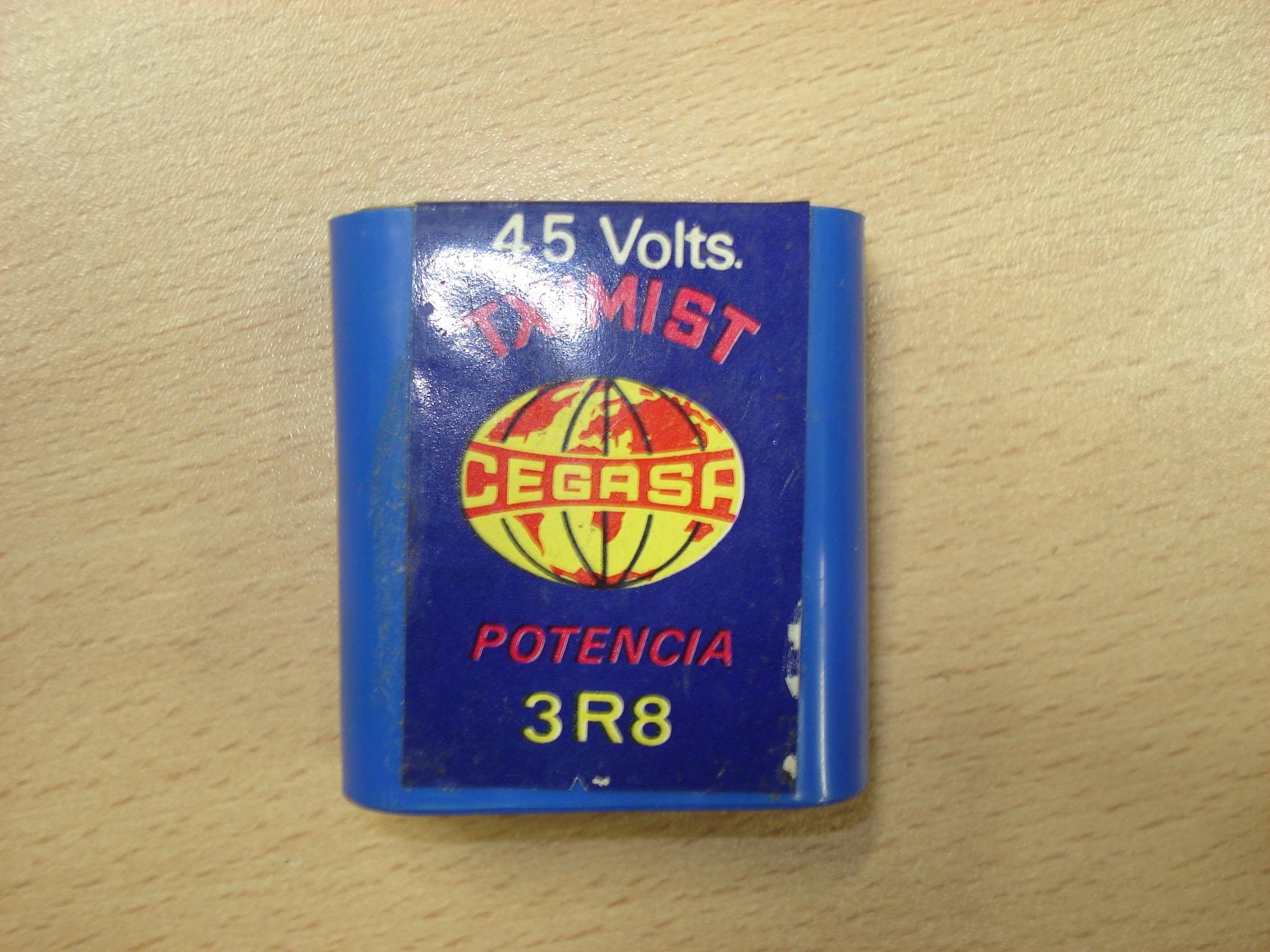 Pila 3R8 -4,5 V- TXIMIST