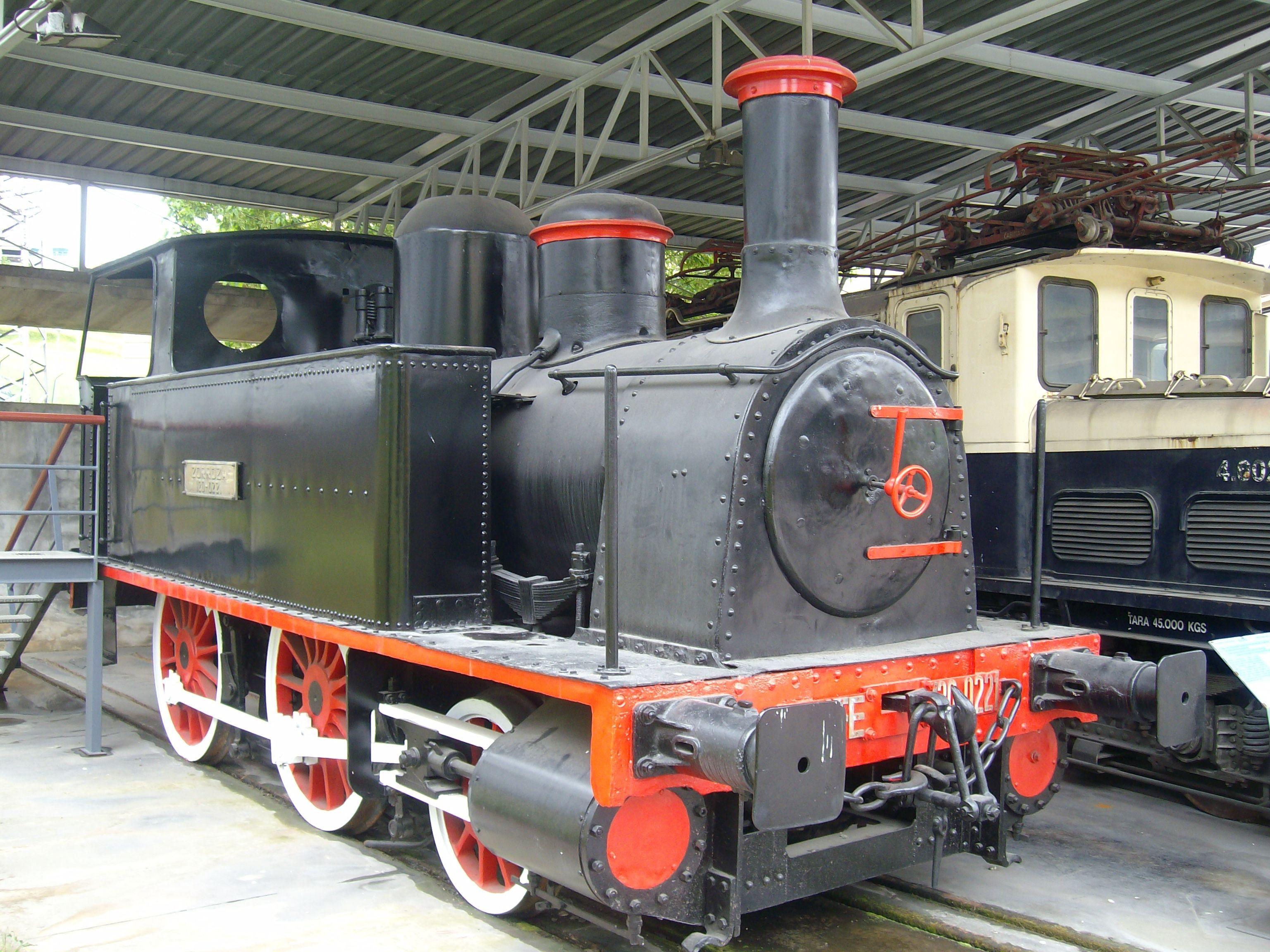 Locomotora de vapor Zorroza