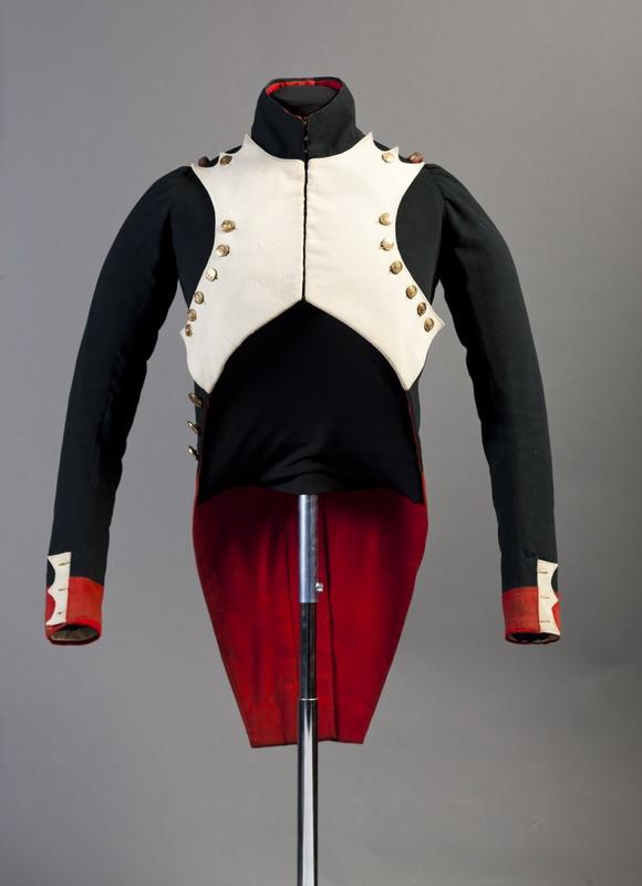 Casaca de oficial granadero del ejército napoleónico