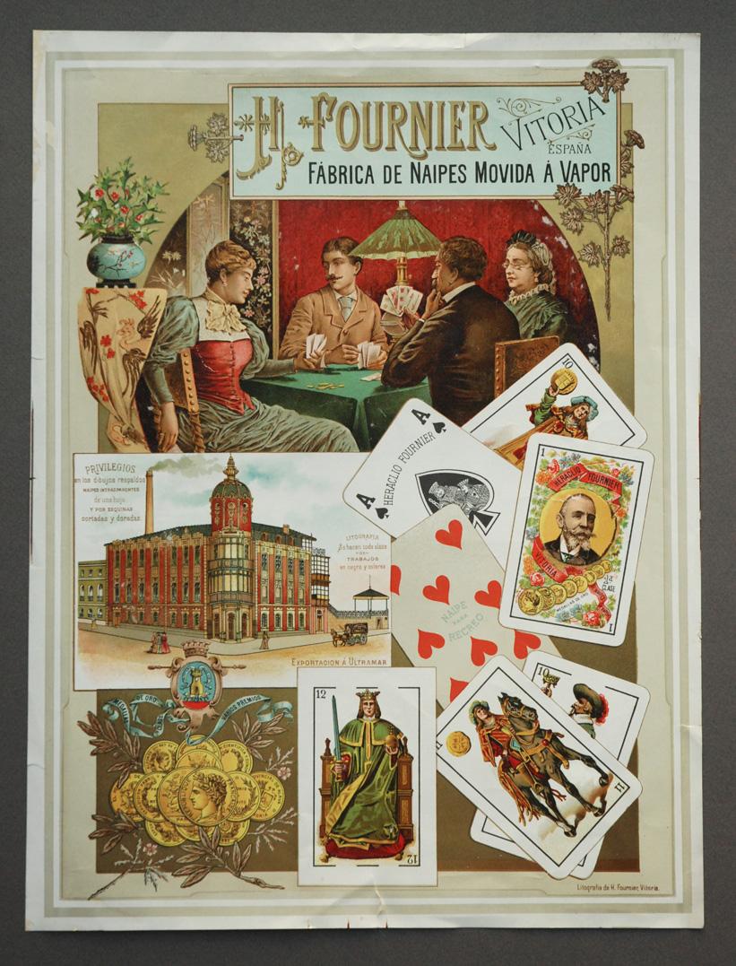 Cartel publicitario Fournier