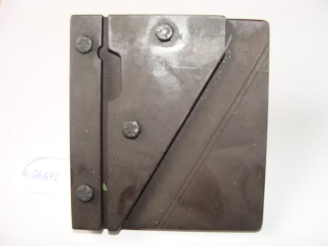 Utillaje para fabricación a mano de escuadra y diámetros de muelle de torsión