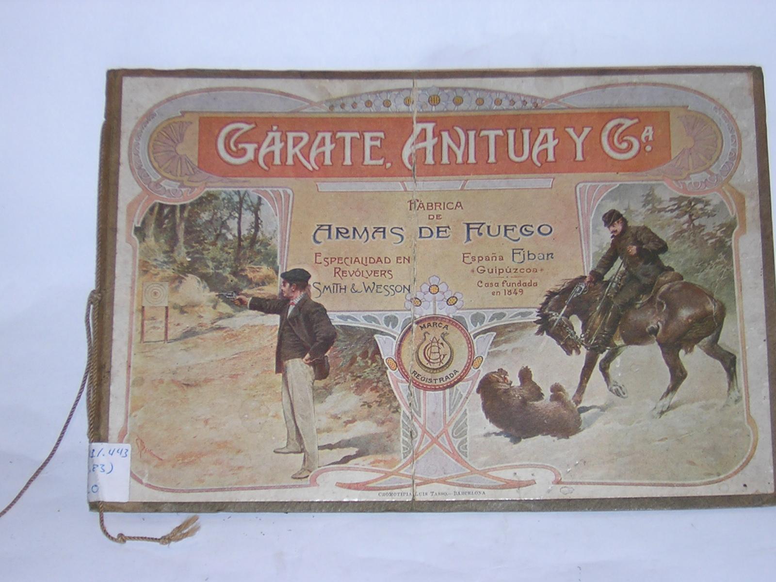 CATÁLOGO DE GARATE, ANITUA Y CIA