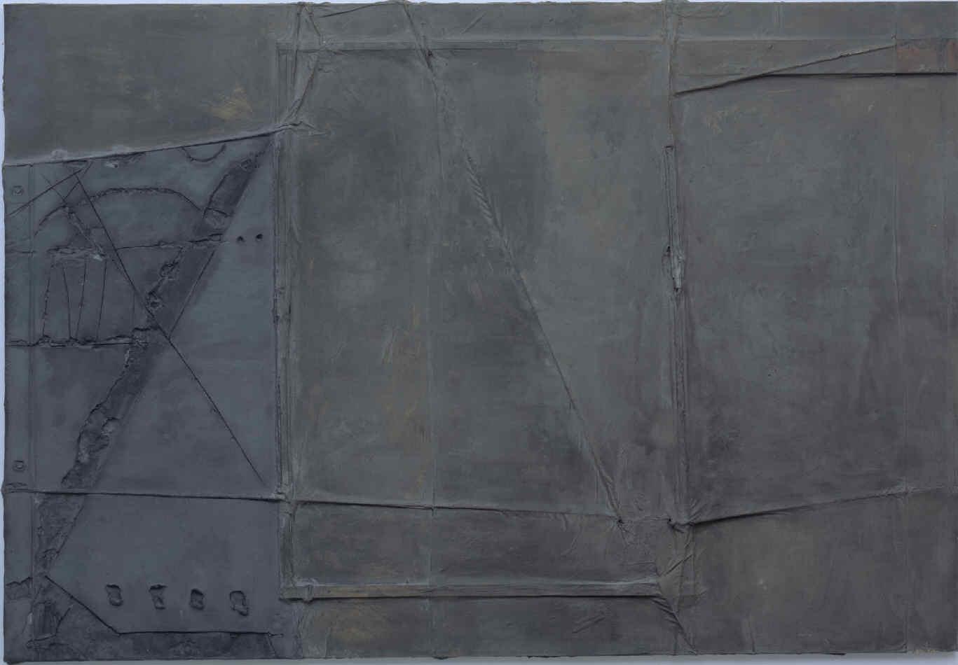 Grande toile grise pour Kassel [Gran tela gris para Kassel]