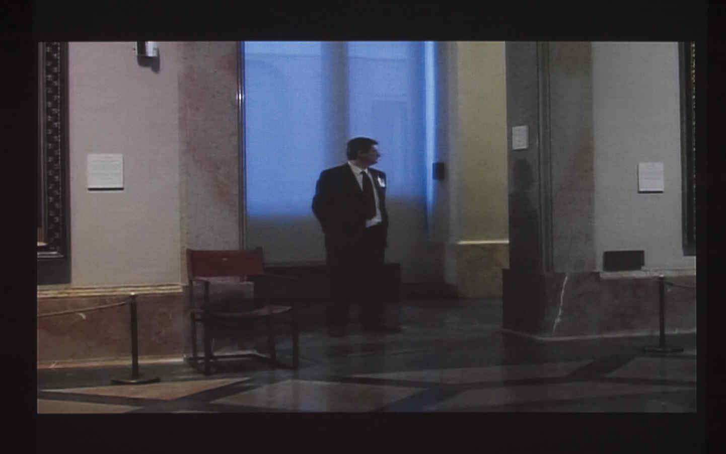 Aportación de vigilancia al Museo del Prado. Vigilar al vigilante de la sala 39