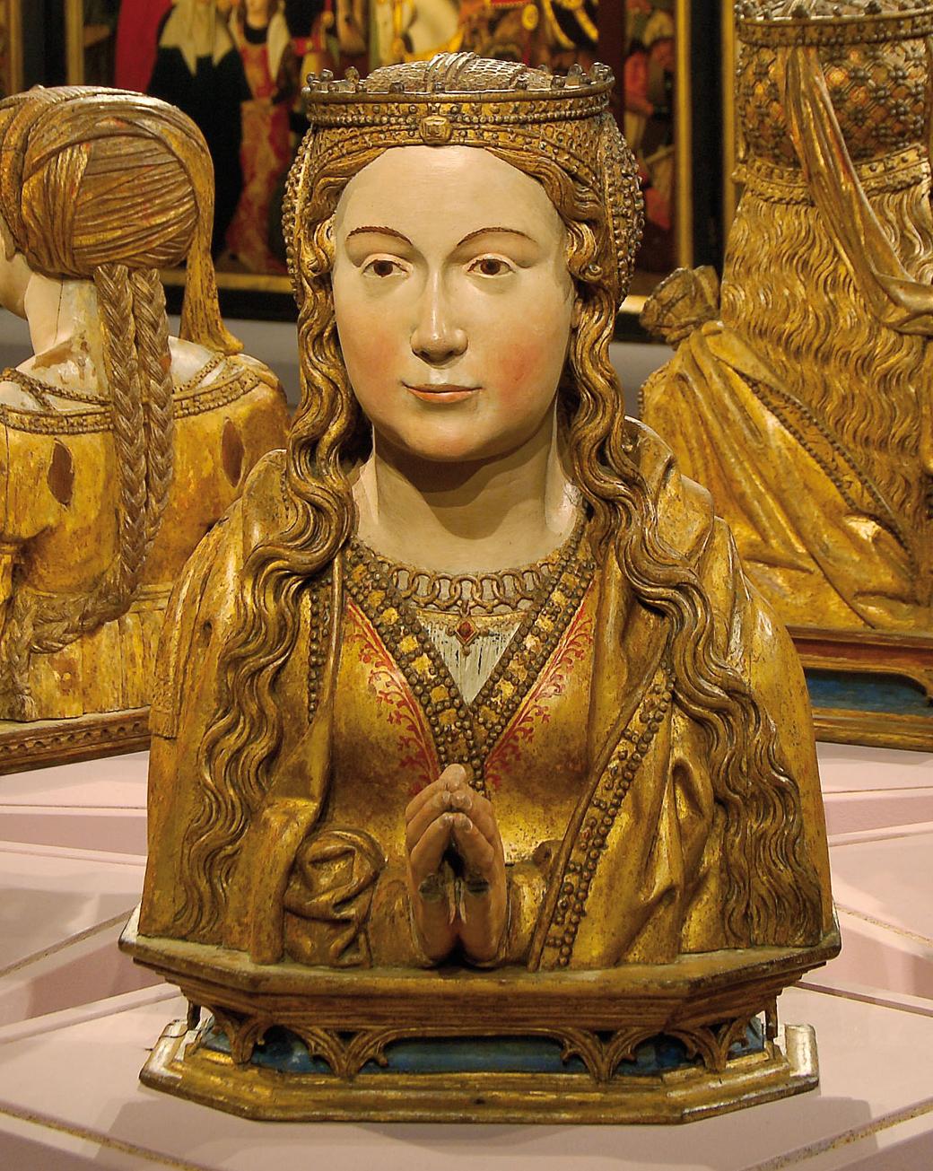 Busto Relicario de Santa Virgen