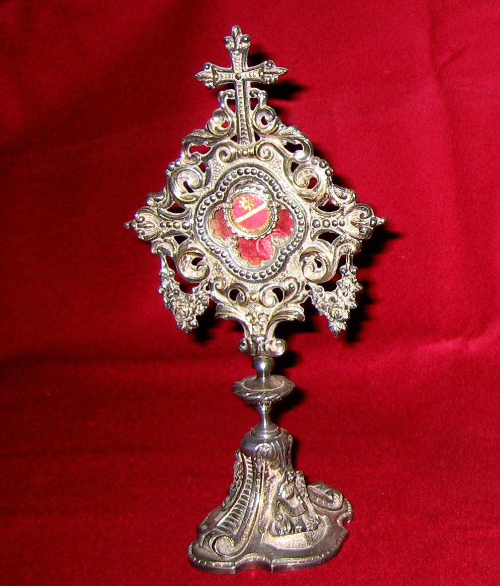 Relicario de San Luis Gonzaga