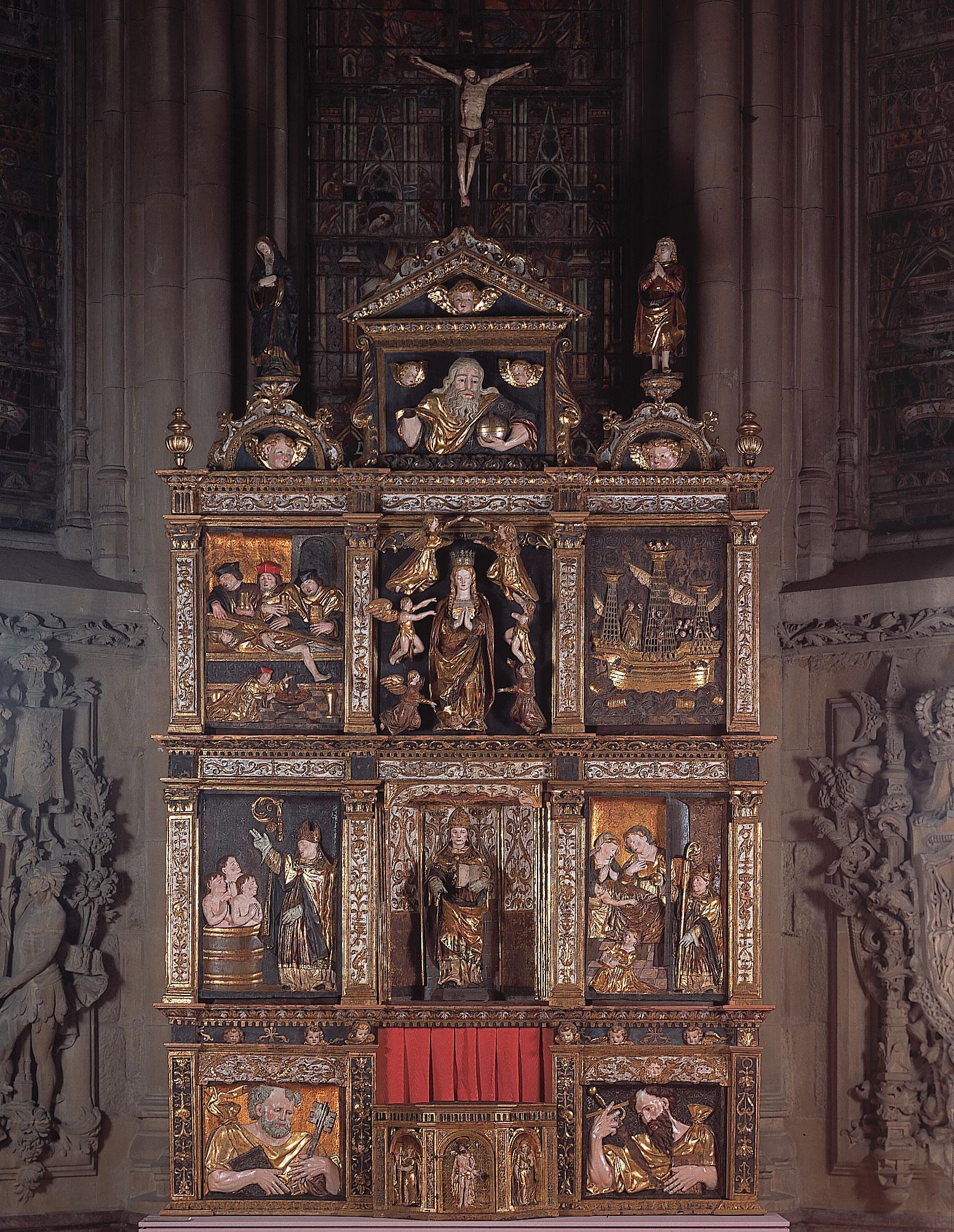 Retablo de San Nicolás de Bari