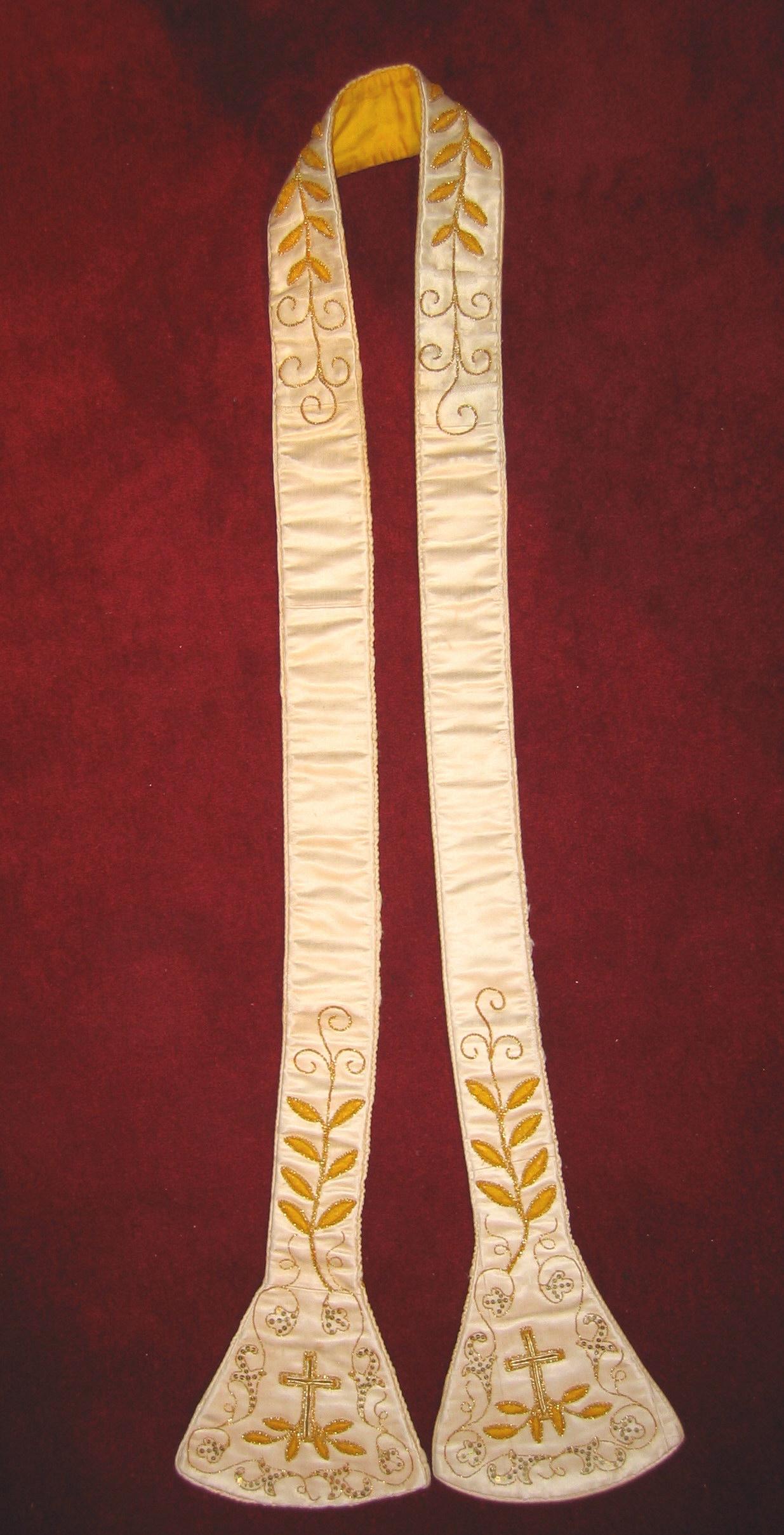 Estola de las MM Carmelitas Descalzas de Murguía