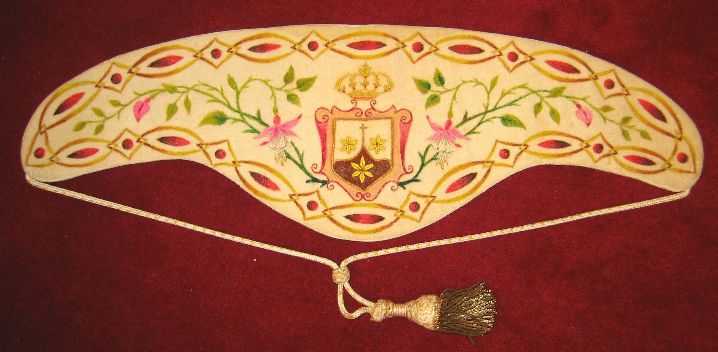 Collarino de las MM Carmelitas Descalzas de Murguía