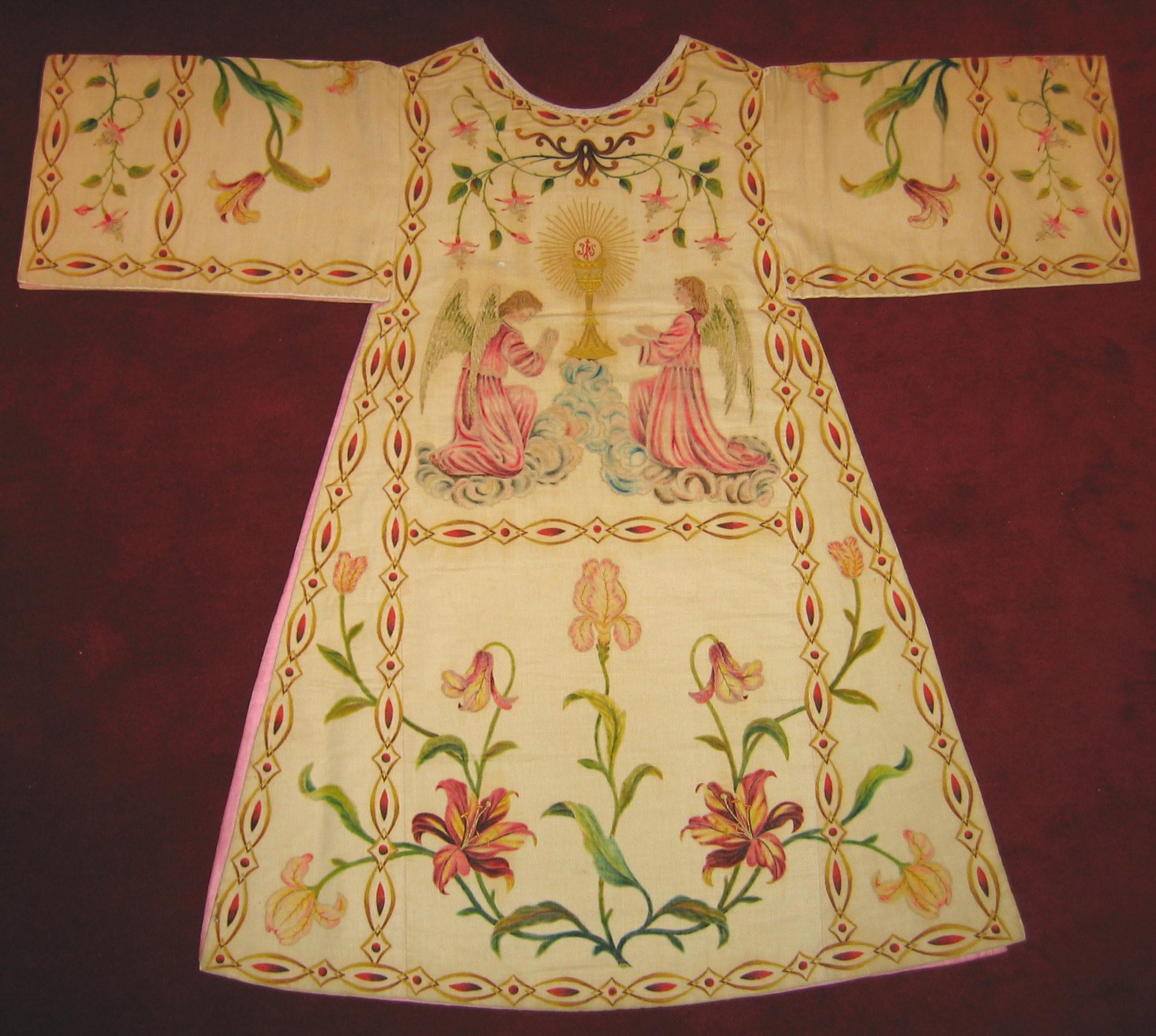 Dalmática de las MM Carmelitas Descalzas de Murguía