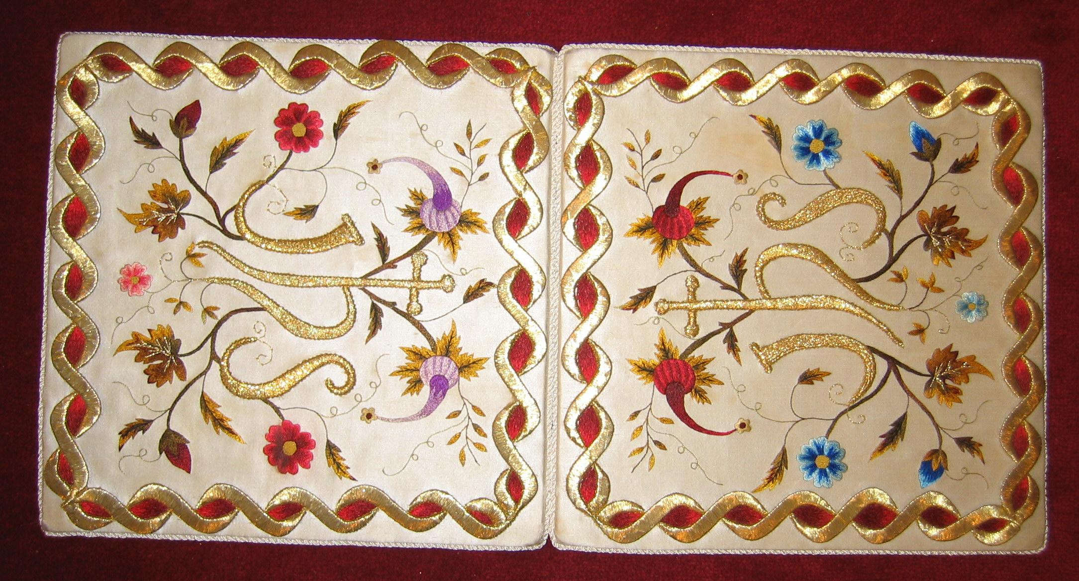 Portacorporales de las MM Carmelitas Descalzas de Murguía