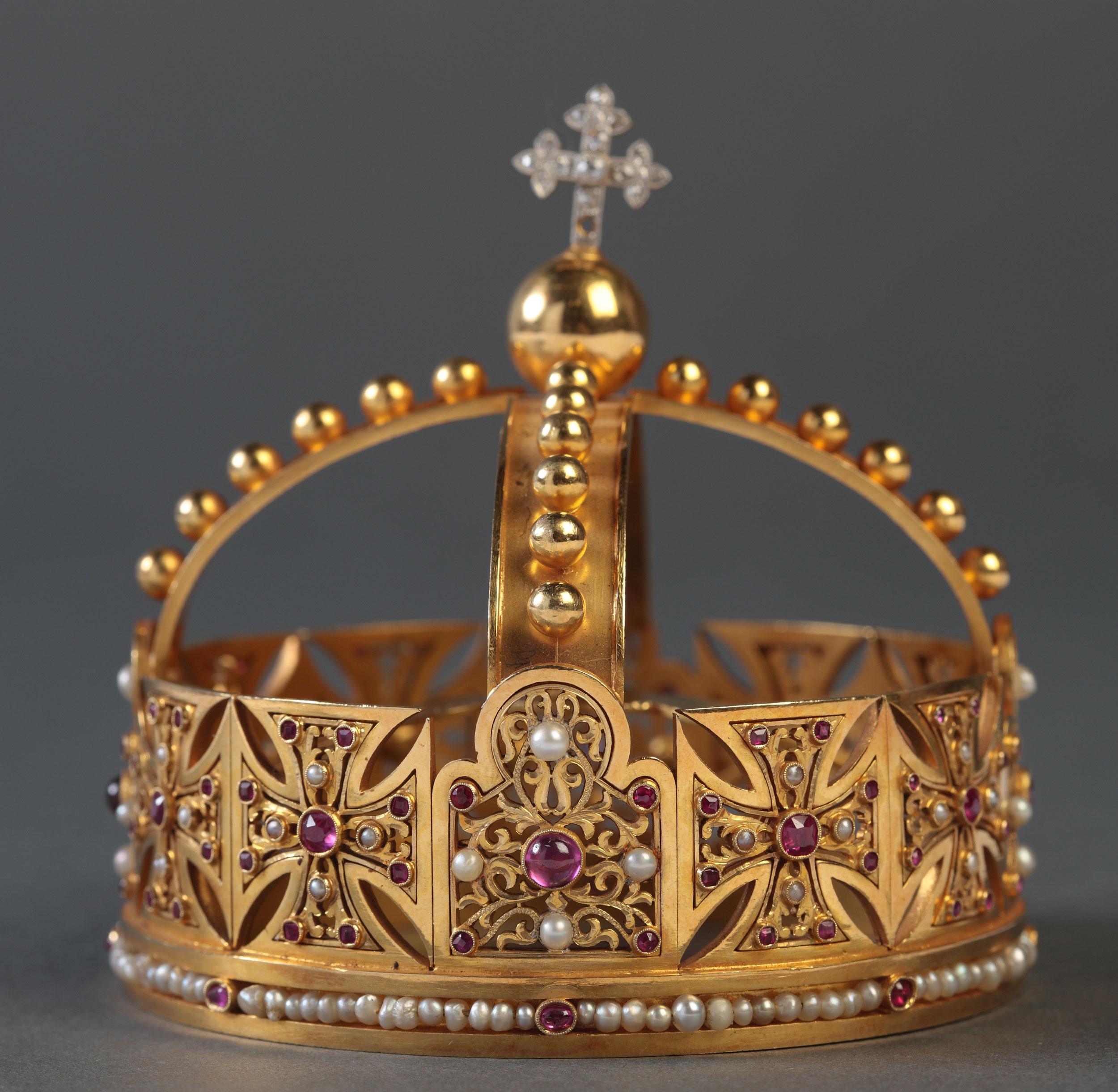 Corona del Niño de Nuestra Señora de la Antigua de Orduña