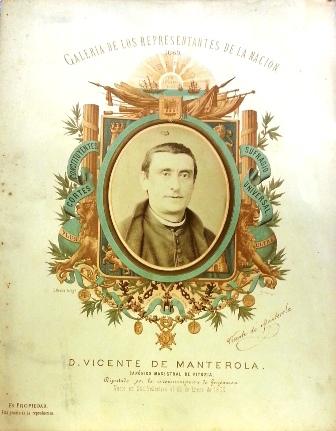 D. Vicente Manterola. Cánonigo magistral de Vitoria.