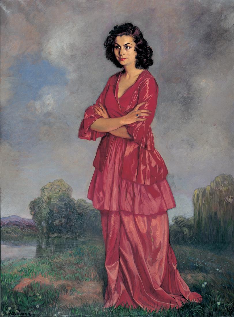 Retrato de Doña Carmen Arconada