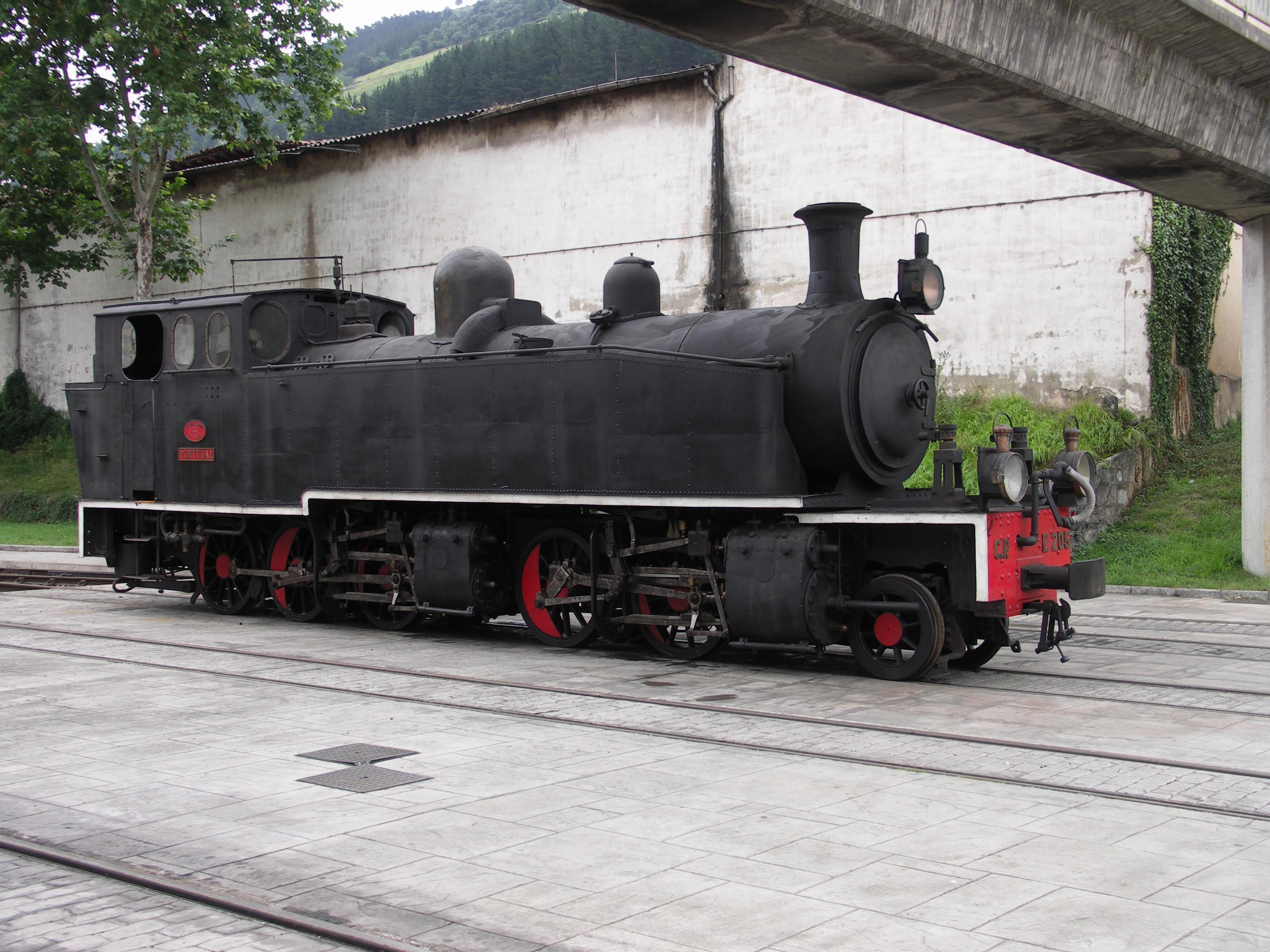 Locomotora de vapor CP-E205