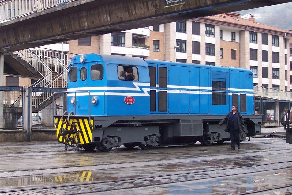 Locomotora diesel-eléctrica 1004
