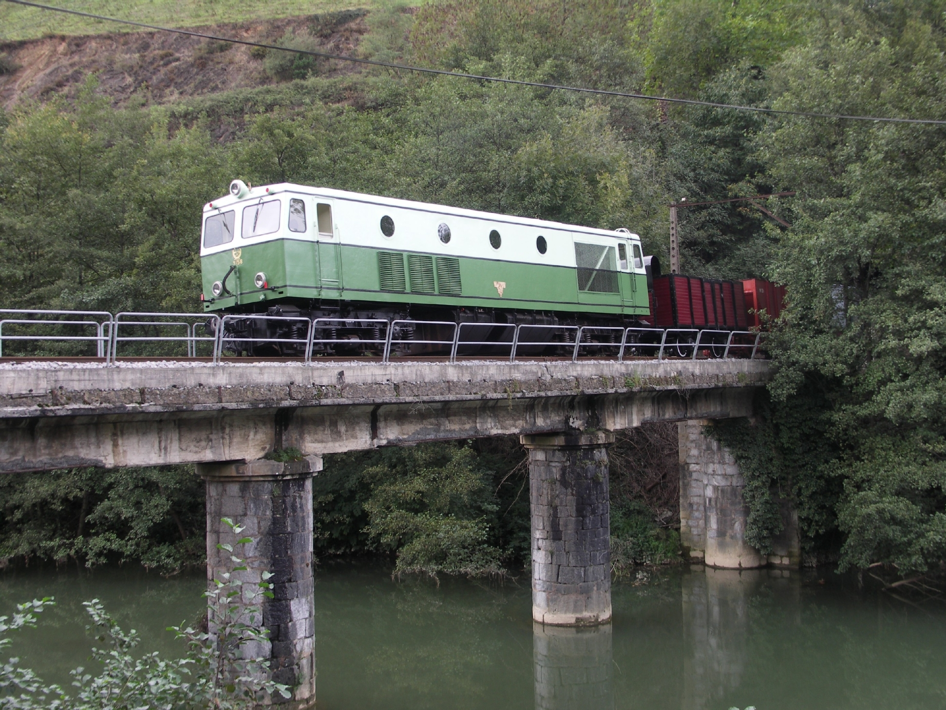Locomotora diesel eléctrica 1158