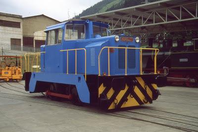 Locomotora de maniobras nº 2