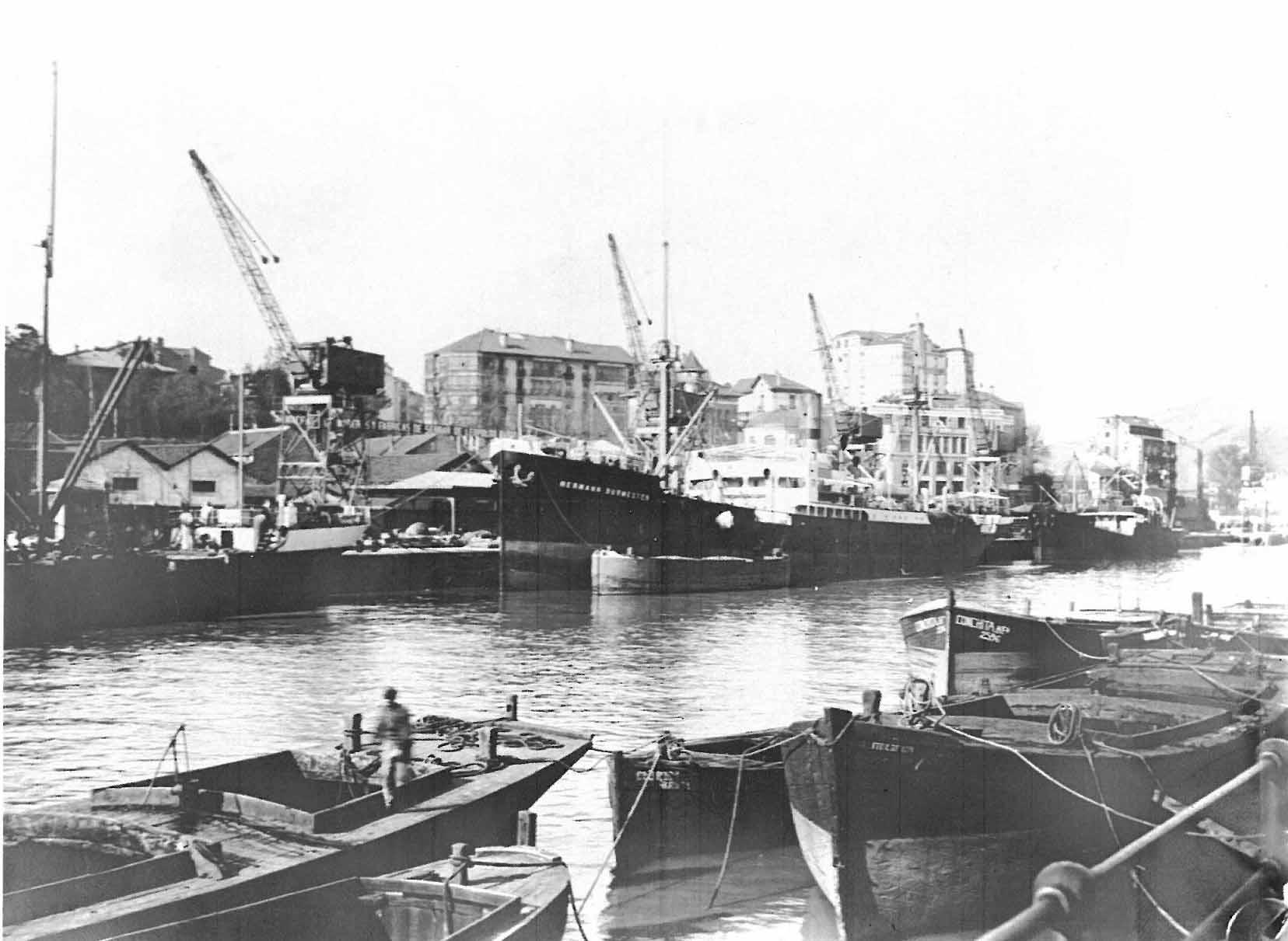 Muelles de Uribitarte