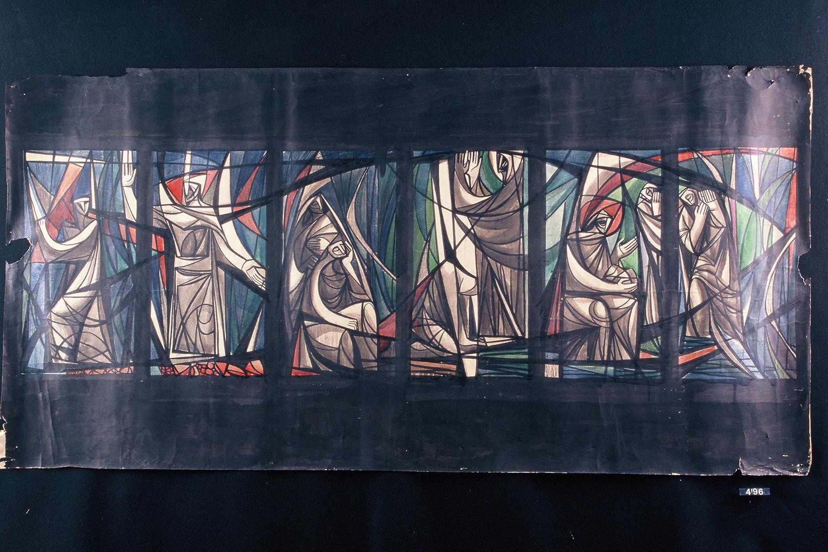Boceto de Vidrieras