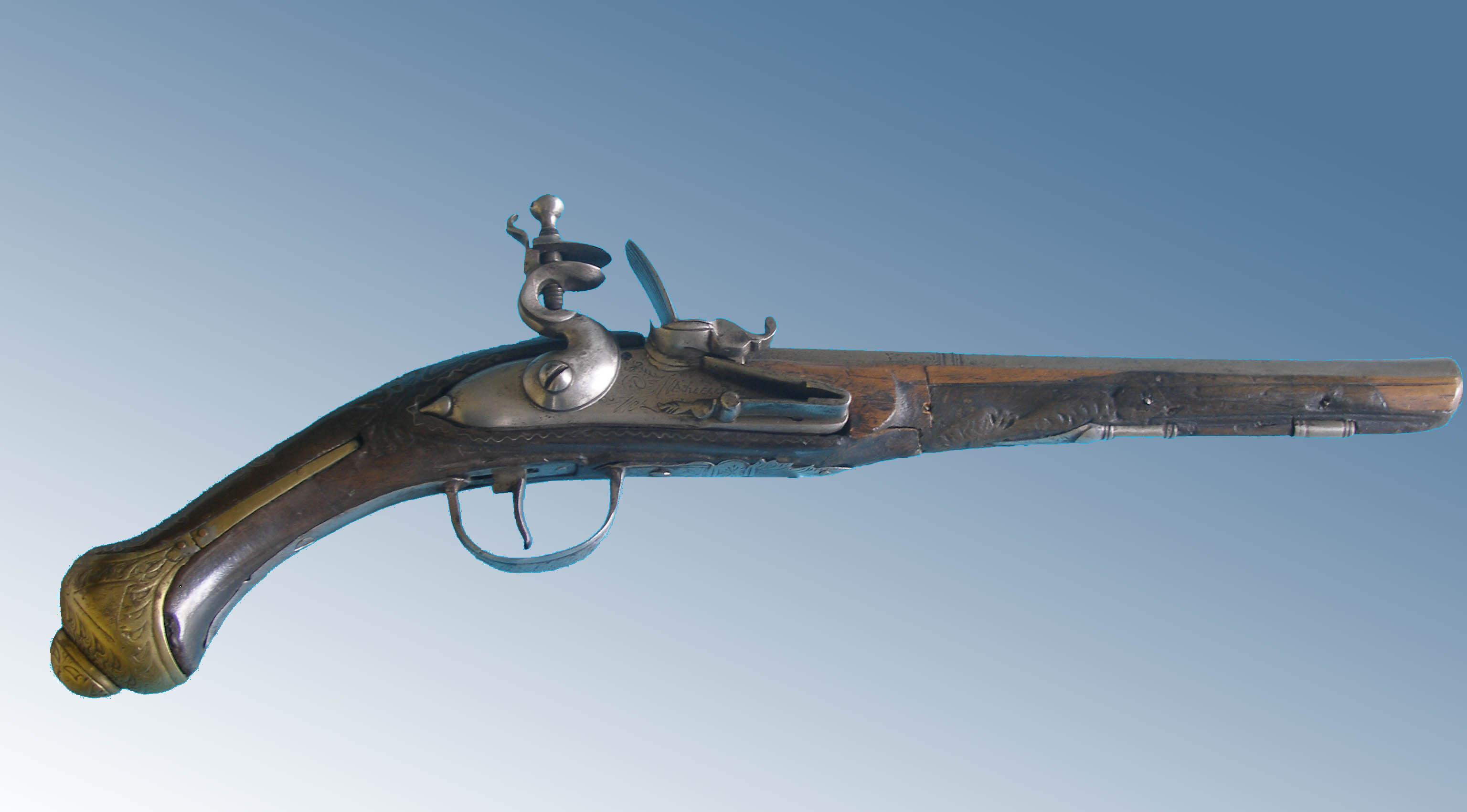Pistola de estilo oriental