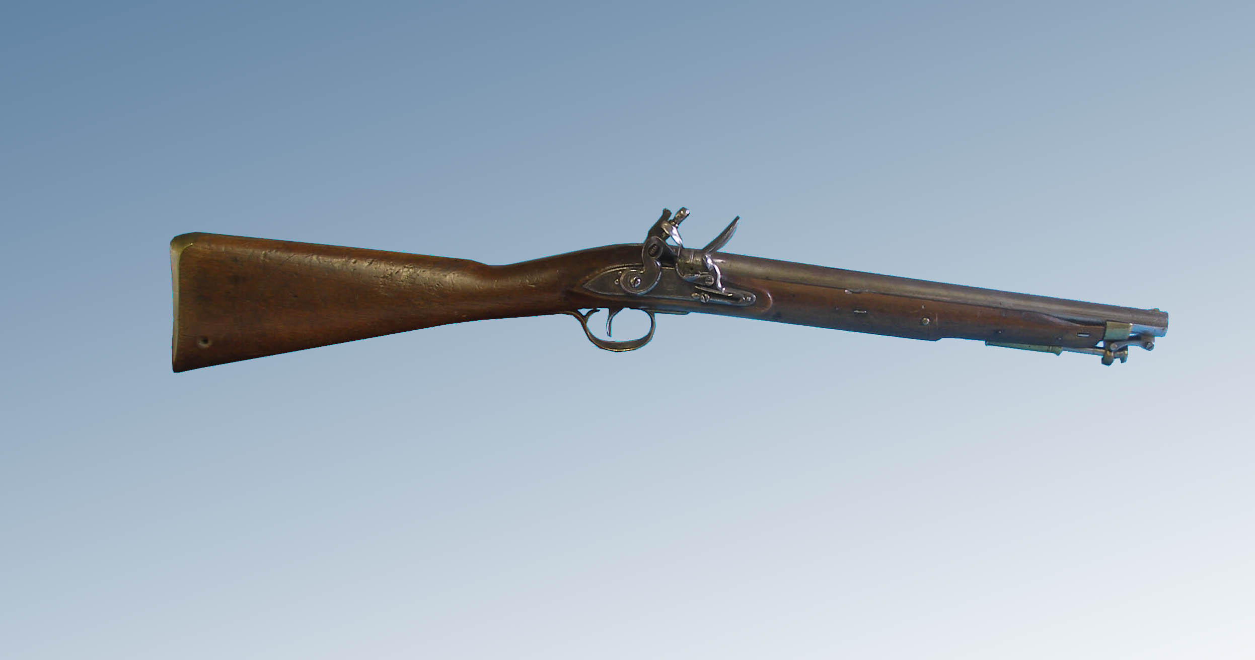 Carabina Paget modelo 1808 para la Caballería Ligera británica