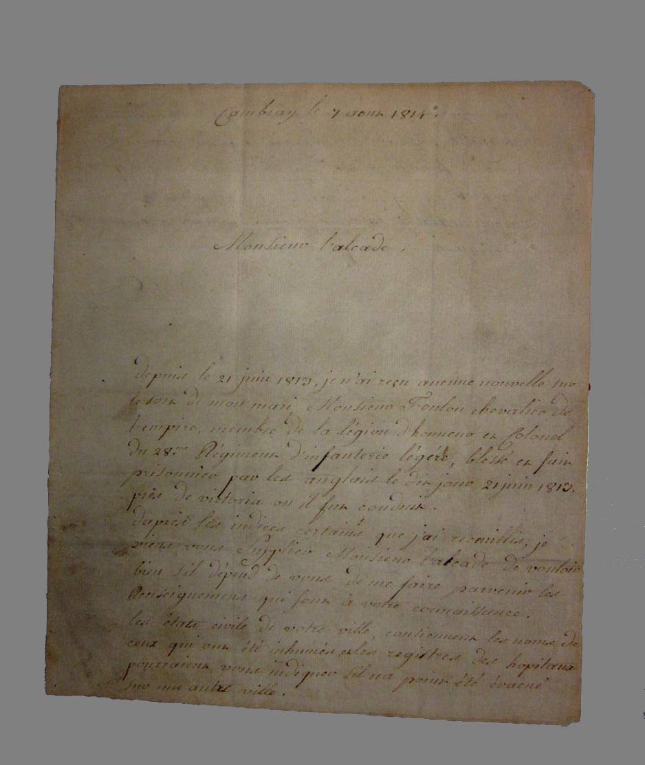 Carta de Cambray