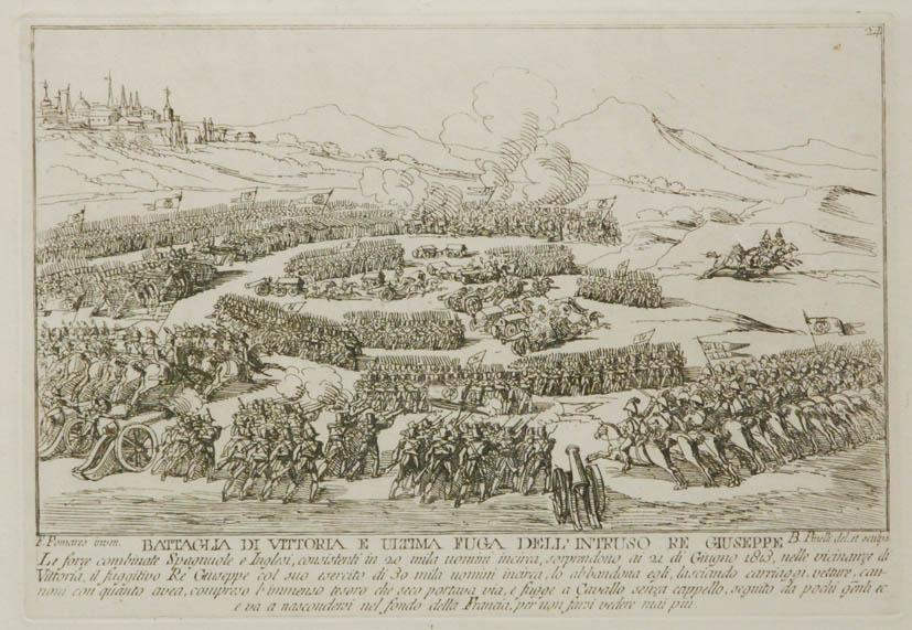 Battaglia de Vittoria e ultima fuga dell`intruso re Giuseppe